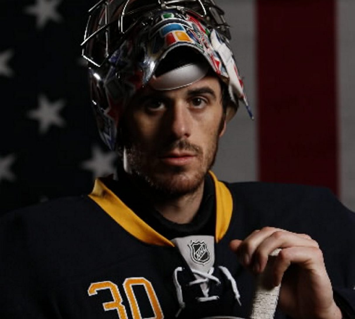 Ryan Miller leaves the Sabres as the franchise's leader in wins and games played. His 540 games played total with one team ranks 16th in NHL history. (Mark Mulville / Buffalo News file photo)
