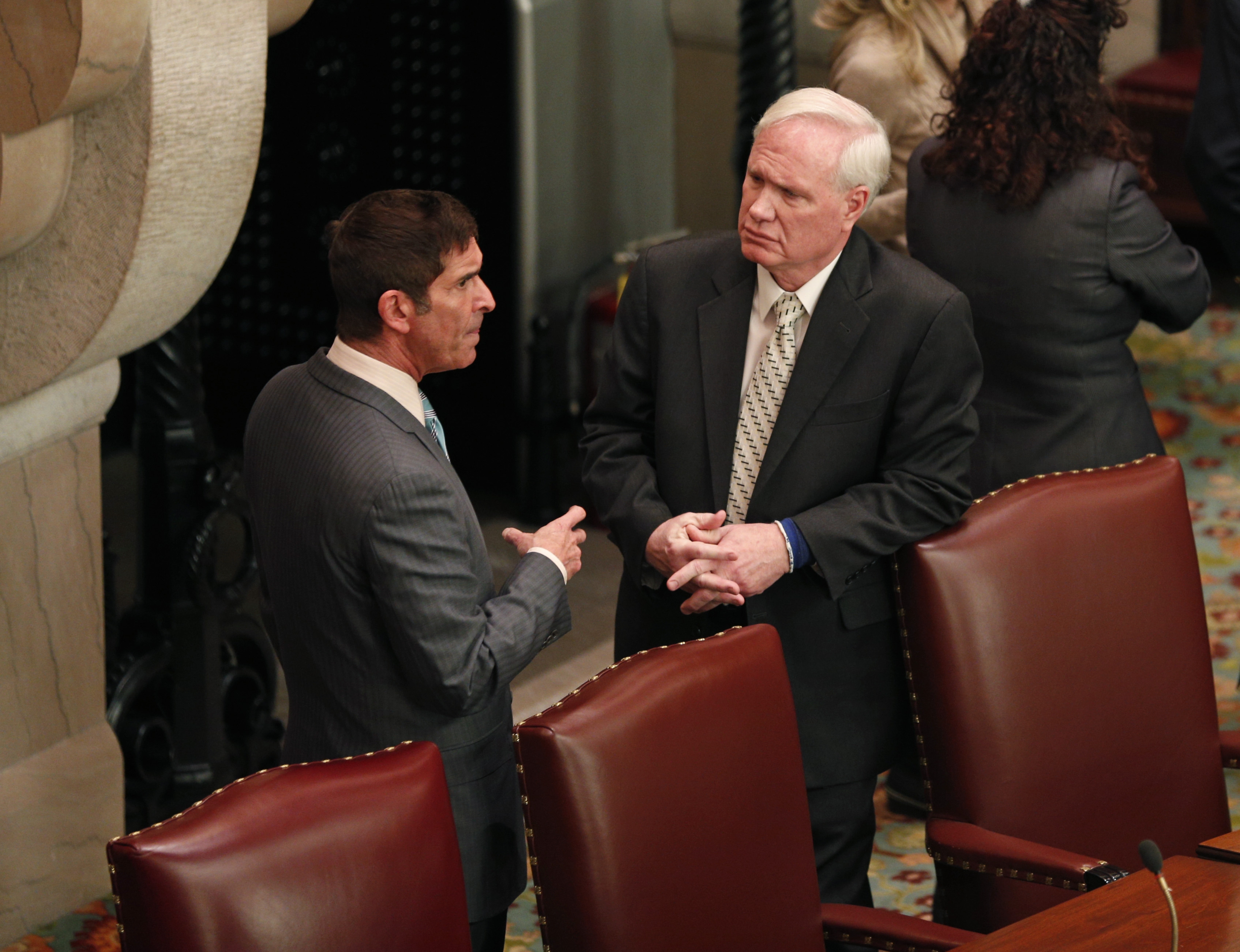 Sen. Tony Avella, of Queens, becomes fifth Democrat to join independent conference and align with Republicans.