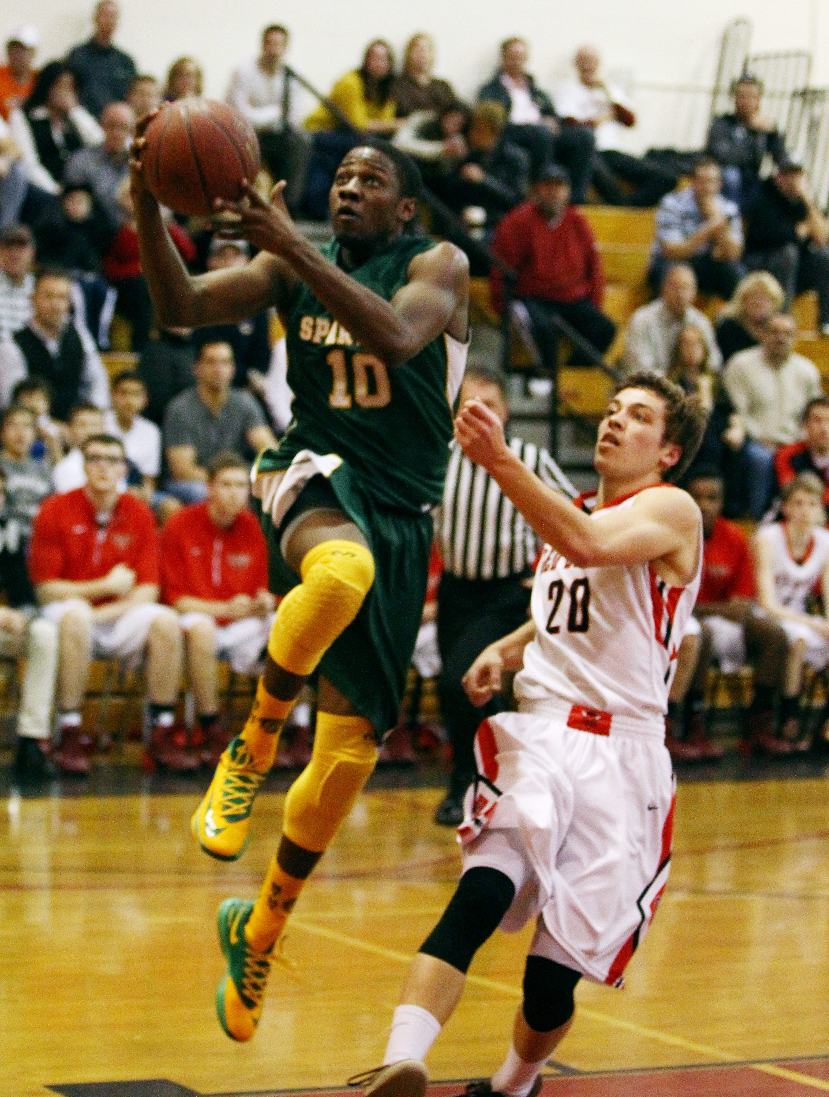 Williamsville North's Sterling Taplin currently ranks 23rd on the all-time WNY points list.