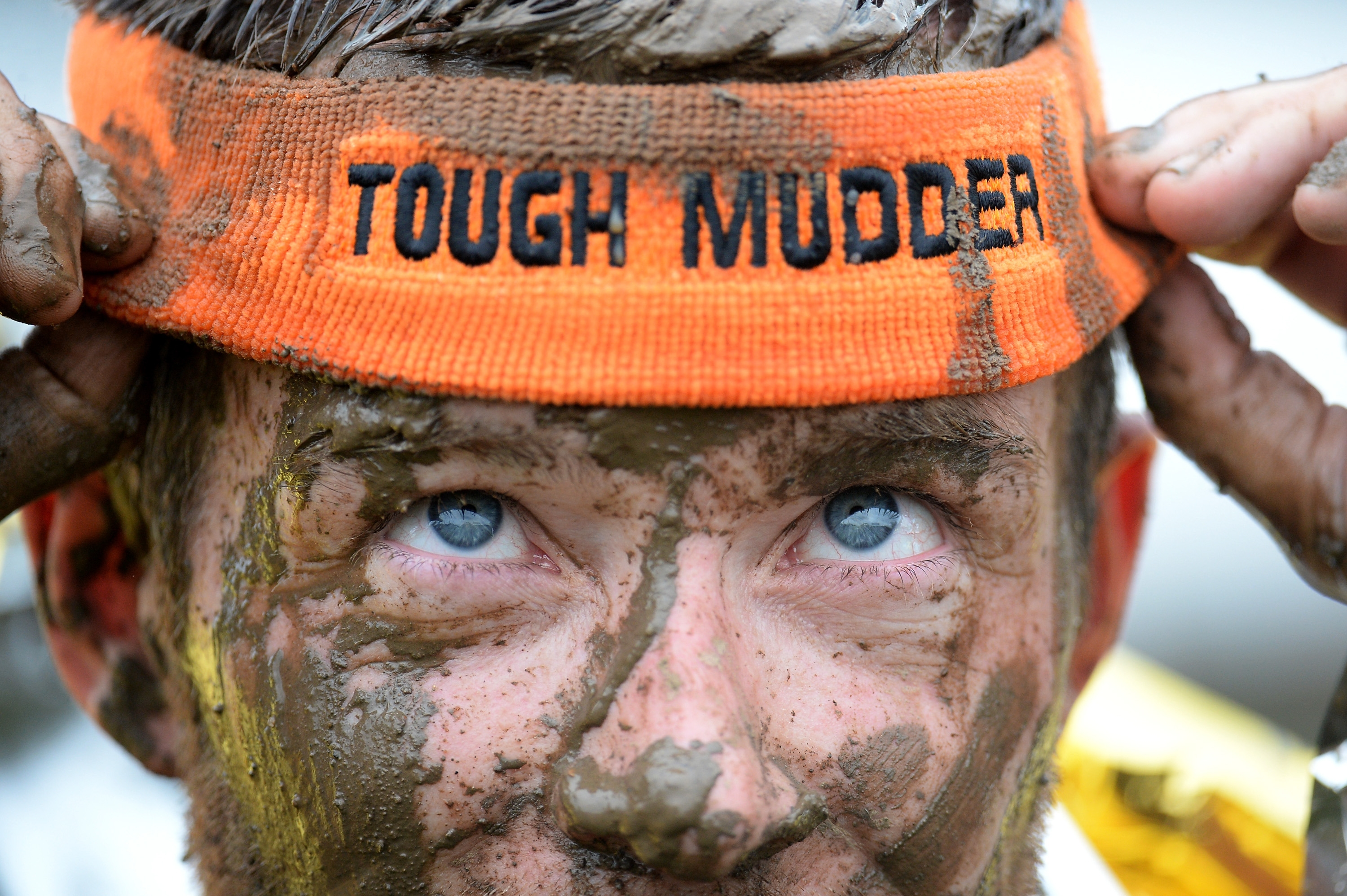 Tough Mudder competitions involve a 10- to 12-mile trail run over rugged terrain, featuring about 20 obstacles.ty Images