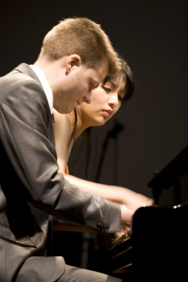 Greg Anderson and Elizabeth Joy Roe met as students at the Juilliard School.