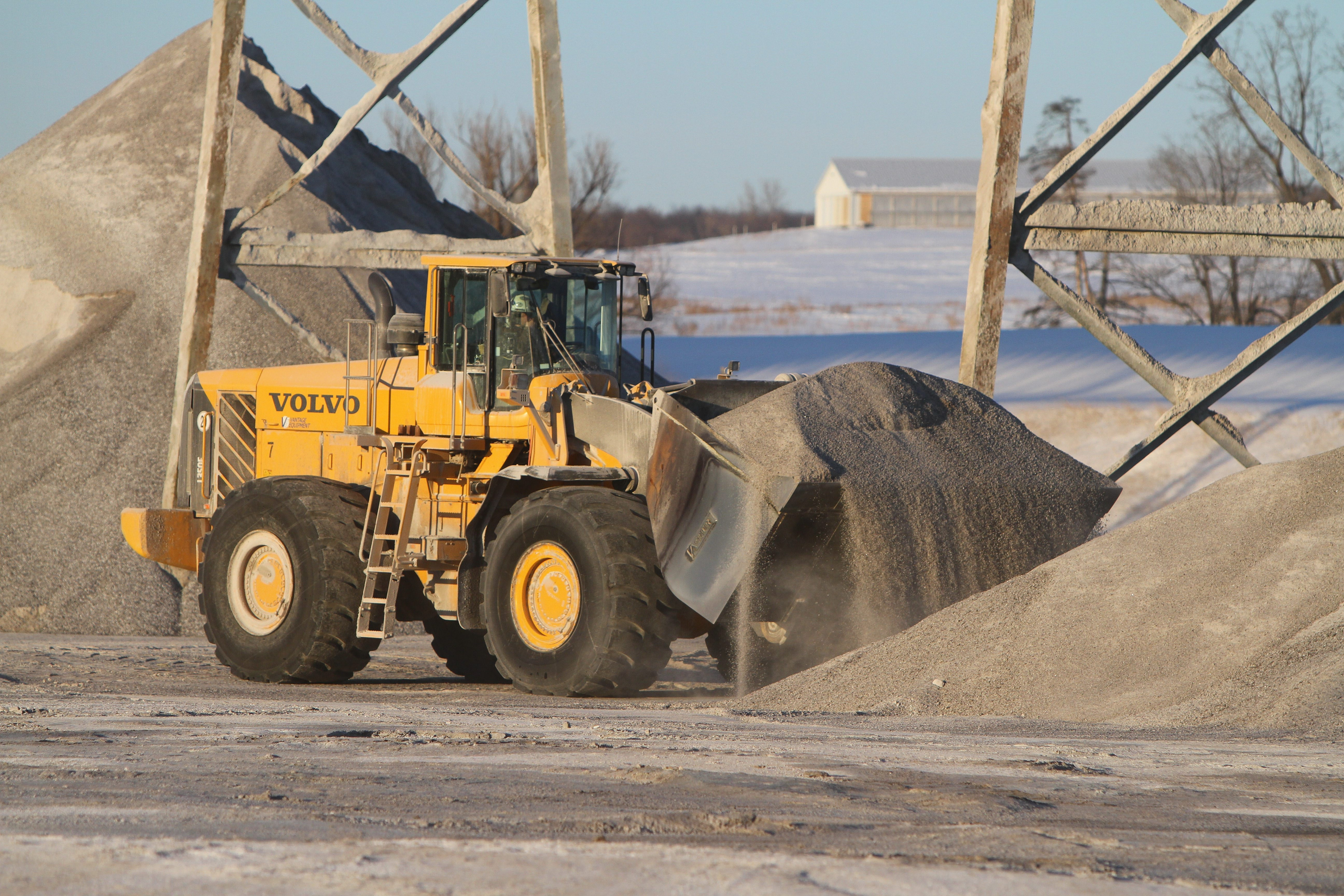 American Rock Salt miners can't get the salt out quickly enough to meet the high demand. Watch a video and see a photo gallery from the mine at BuffaloNews.com.