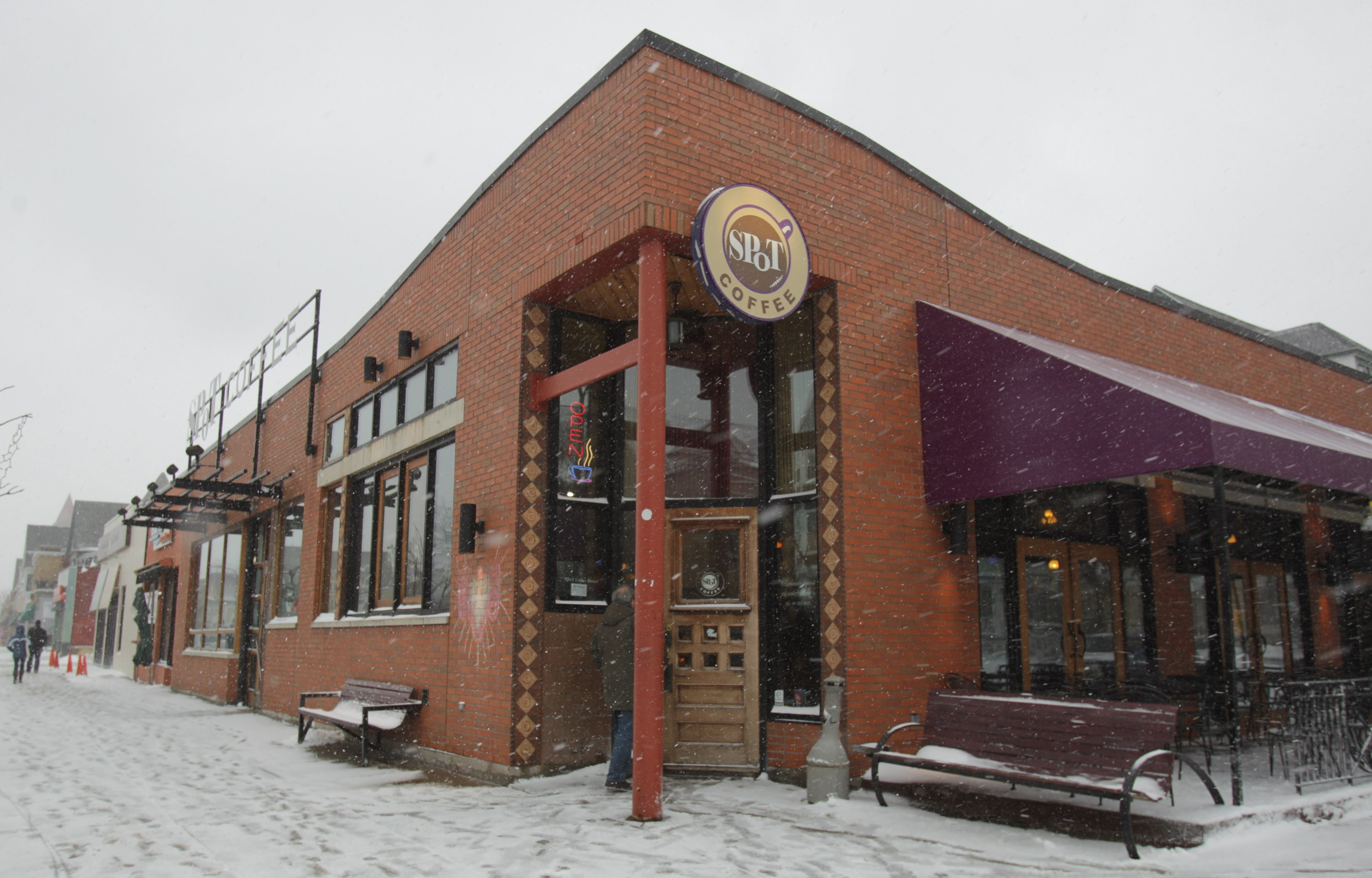 This Spot Coffee on Elmwood Avenue in Buffalo is one of several the Canadian-based coffee chain plans to offer as franchises.