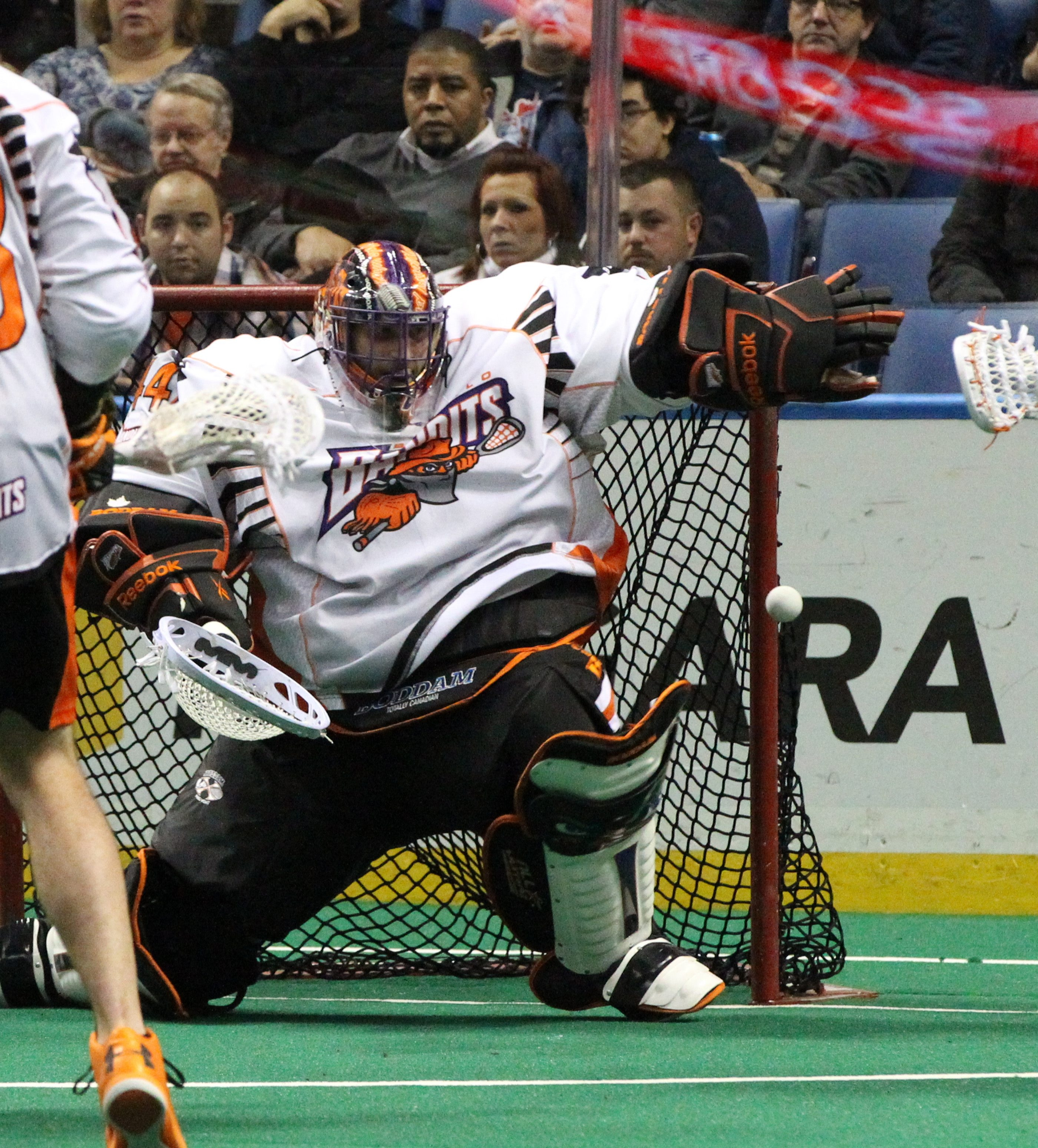 Bandits goalie Anthony Cosmo, who slumped in 2013, has bounced back this year with outstanding play in net. Cosmo will try to keep it going against the Philadelphia Wings tonight at First Niagara Center.