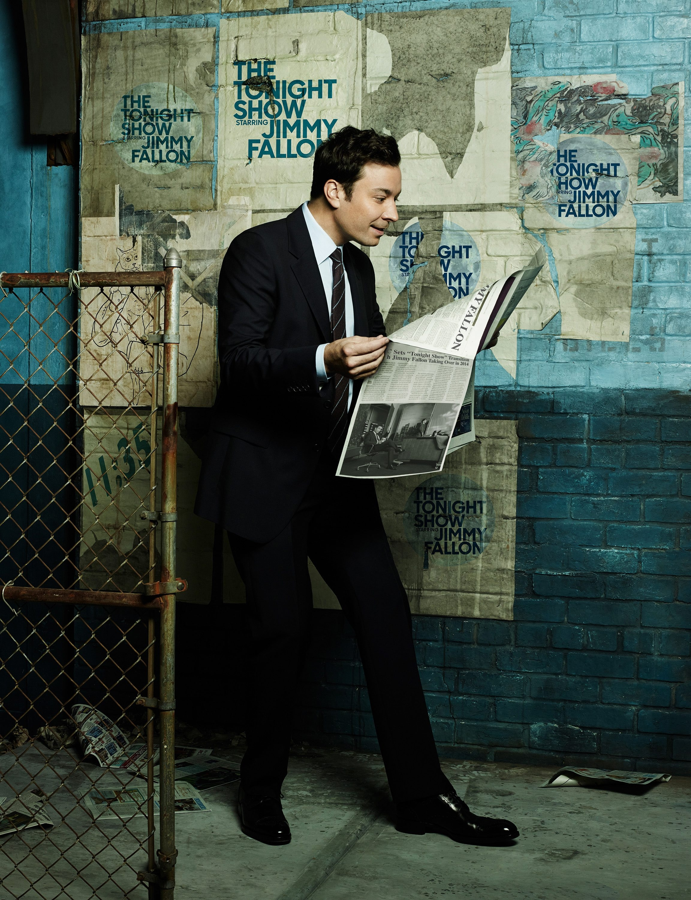 THE TONIGHT SHOW STARRING JIMMY FALLON — Season: 1 — Pictured: Jimmy Fallon — (Photo by: James White/NBC)
