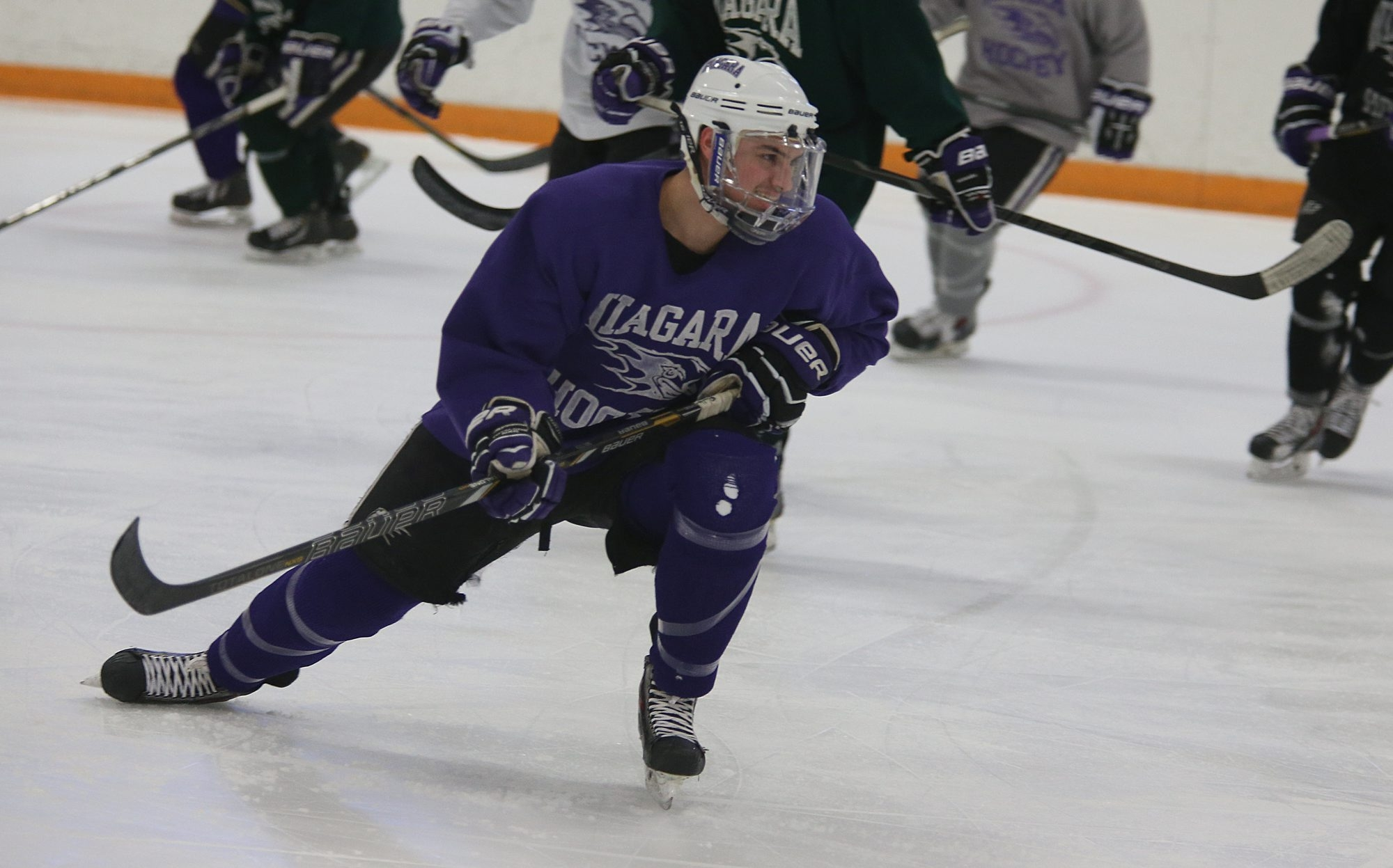 Vince Muto of Niagara Falls found the choice of offers between Fairbanks and Niagara an easy one to make.