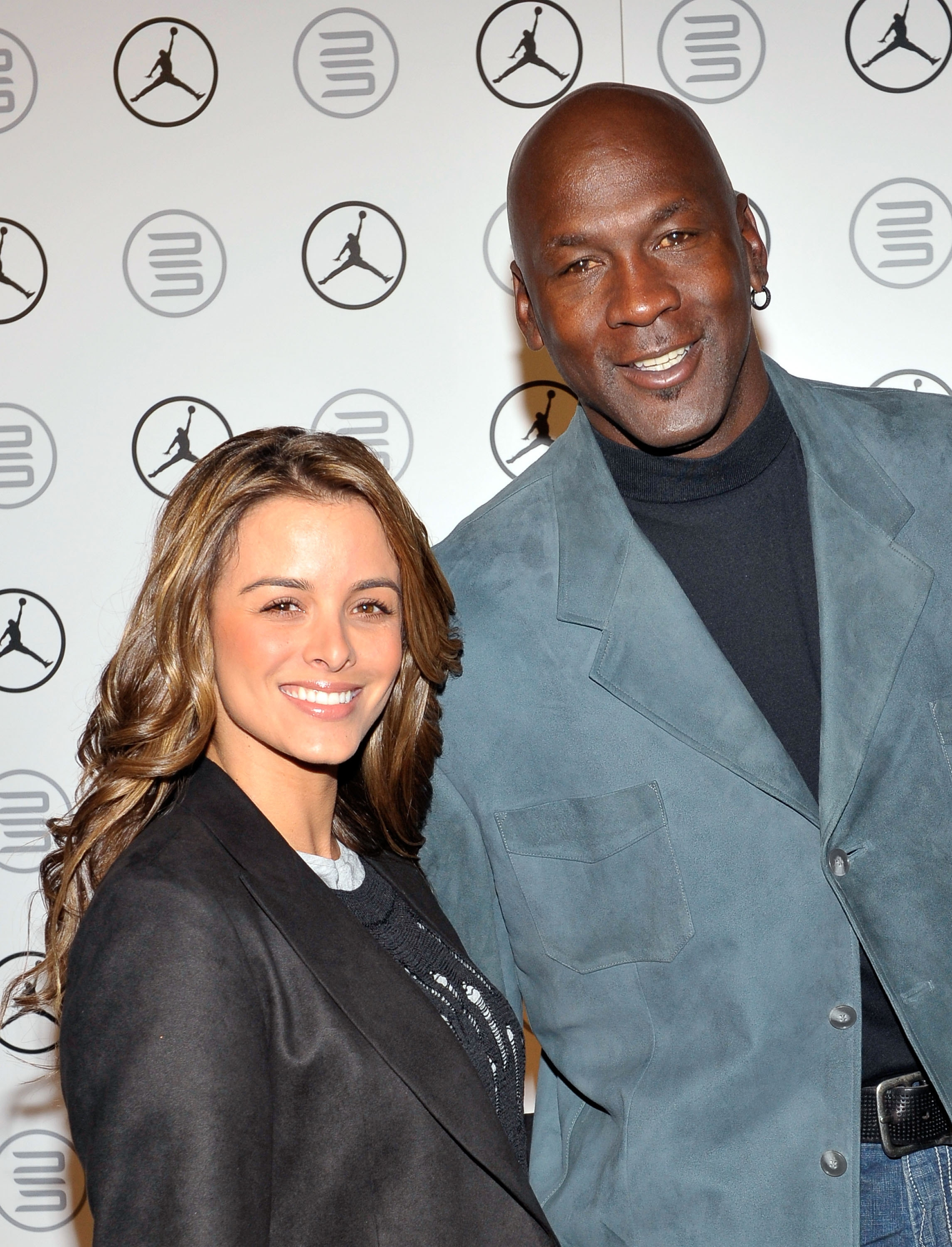 Michael Jordan and his wife, Yvette, became parents of identical twin daughters Sunday in West Palm Beach, Fla.