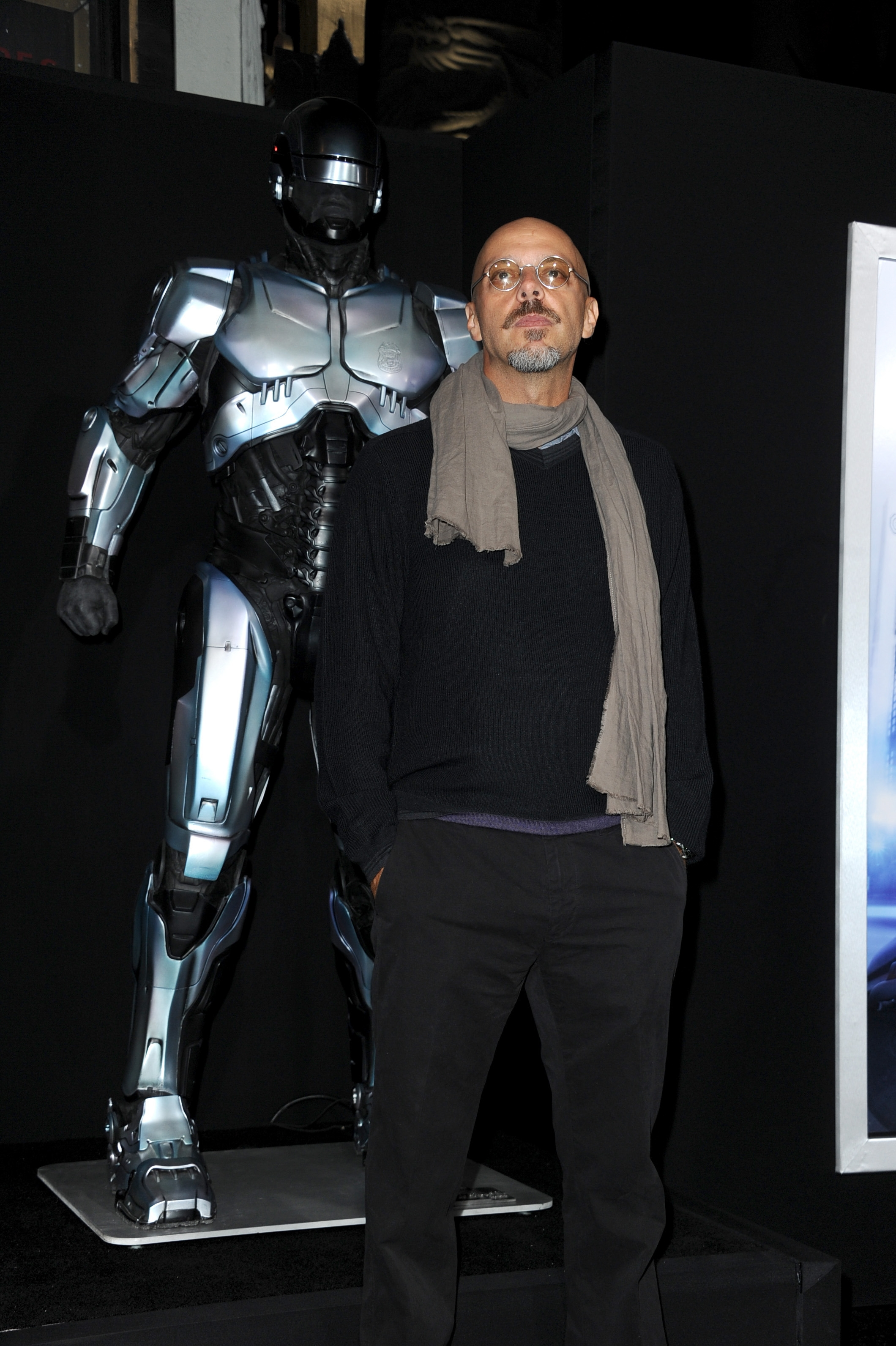 """""""Robocop"""" director Jose Padilha hopes the movie makes people think about the prospects of having robots in the police and military forces."""