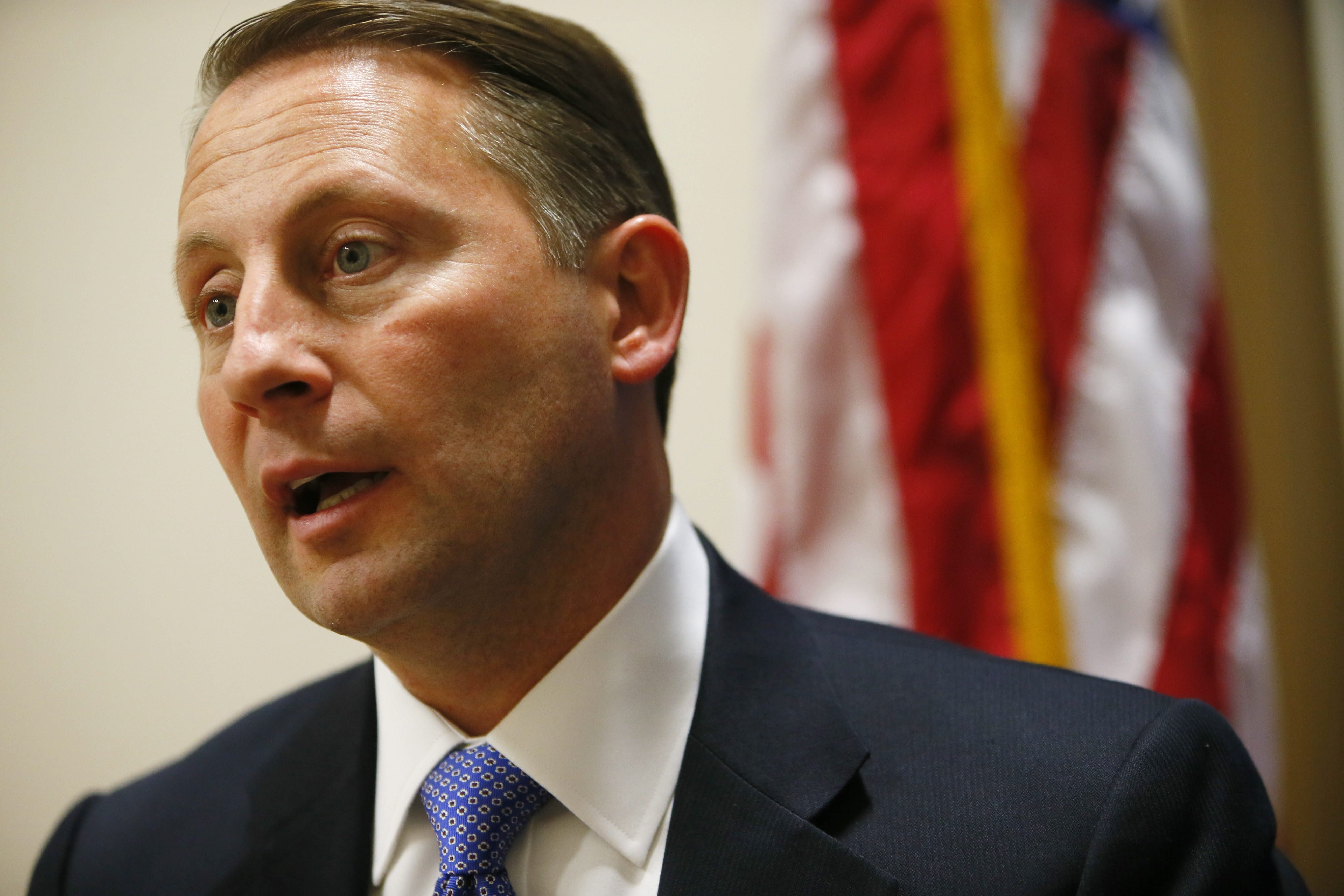 Leading Senate Republican says he believes Westchester County Executive Rob Astorino will be his party's candidate for governor this fall.  (Derek Gee/Buffalo News file photo)