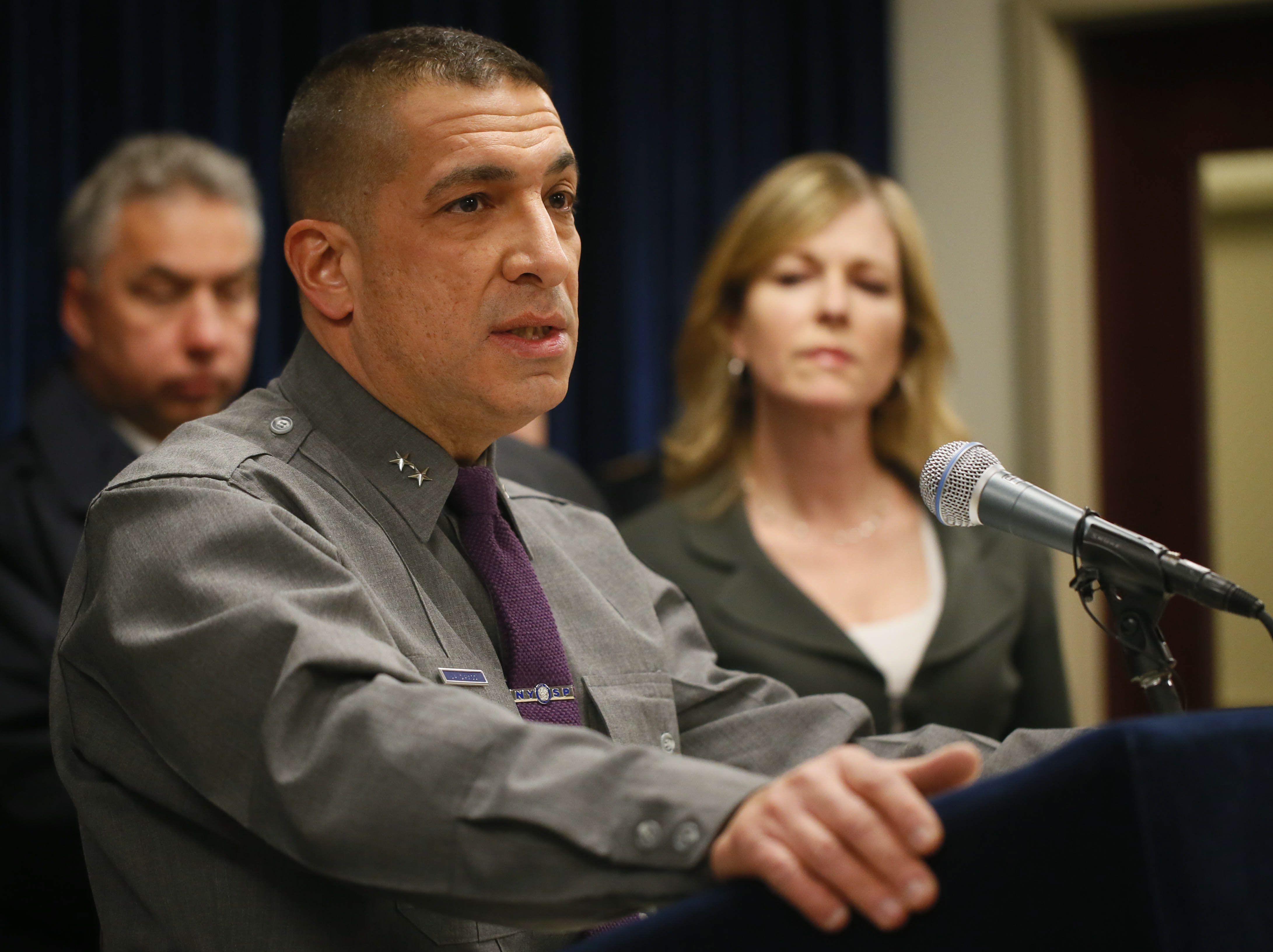 New York State Police Superintendent Joseph D'Amico says he has no idea when ammunition background checks will begin. (Derek Gee/Buffalo News file photo)