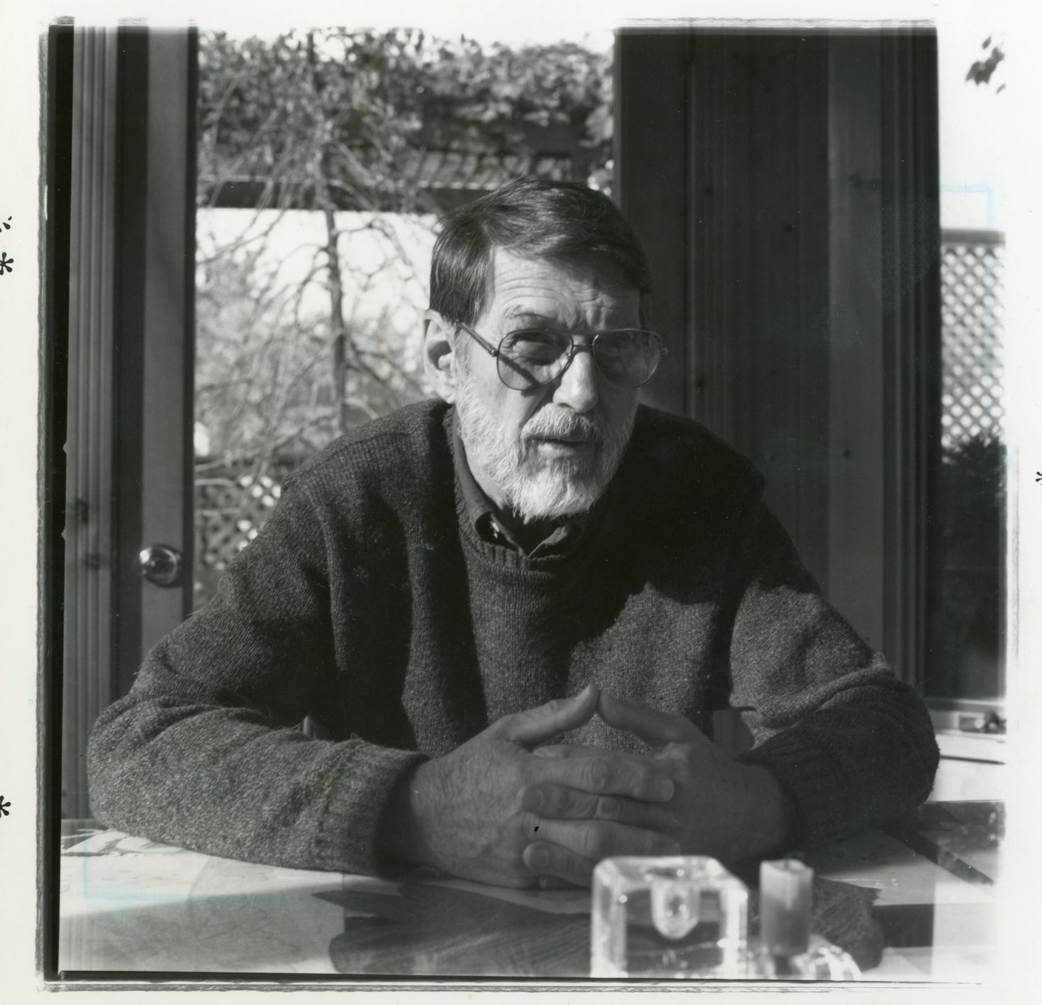 """A forklift would be required to move a """"complete"""" letters of  the late Robert Creeley."""
