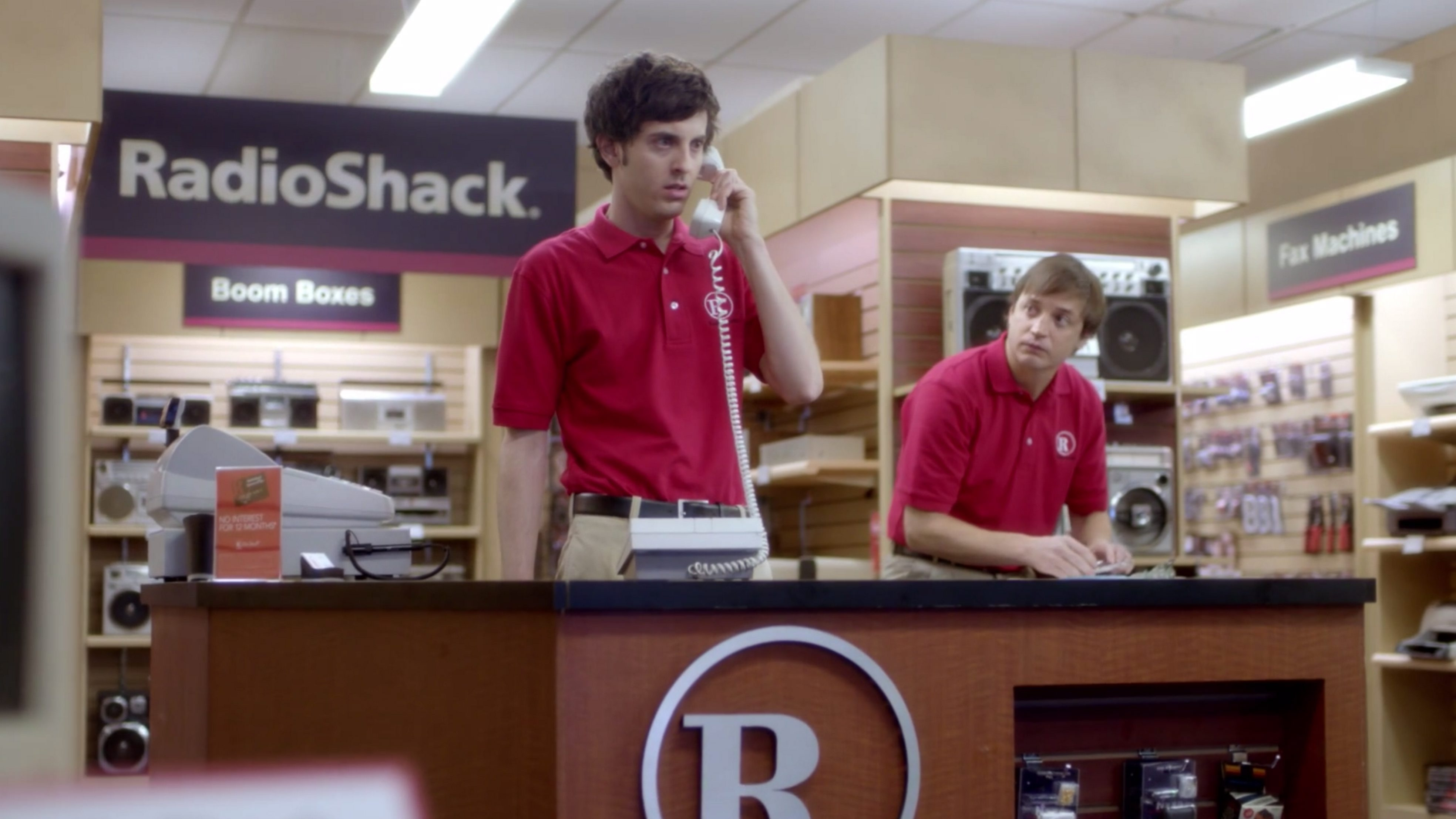 """Radio Shack's ad, """"The '80s Called: They Want Their Store Back,"""" was hailed by local advertising professionals."""