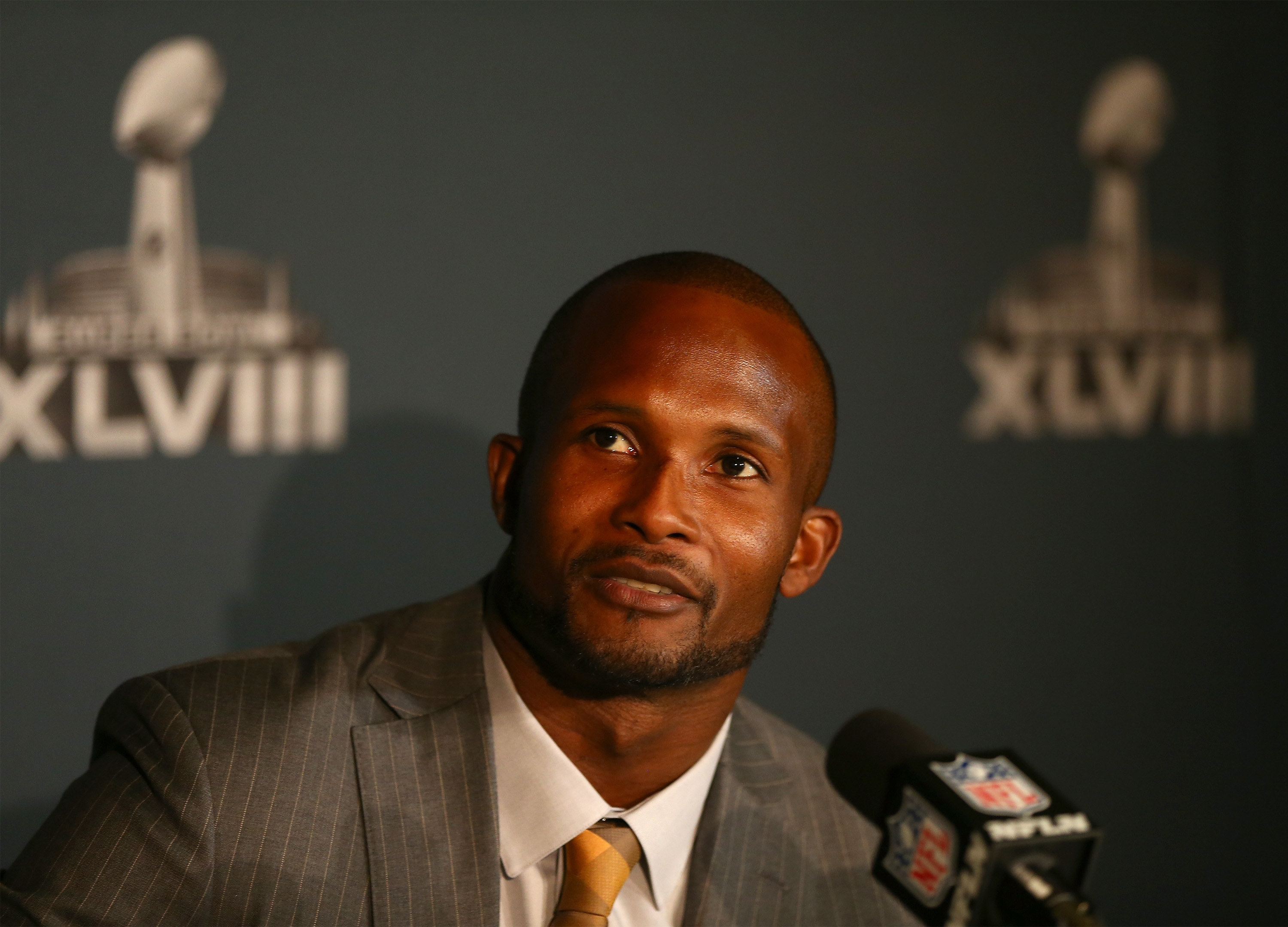"""That's the only reason I still lace them up, because I want to play in games like this.""   — Champ Bailey"