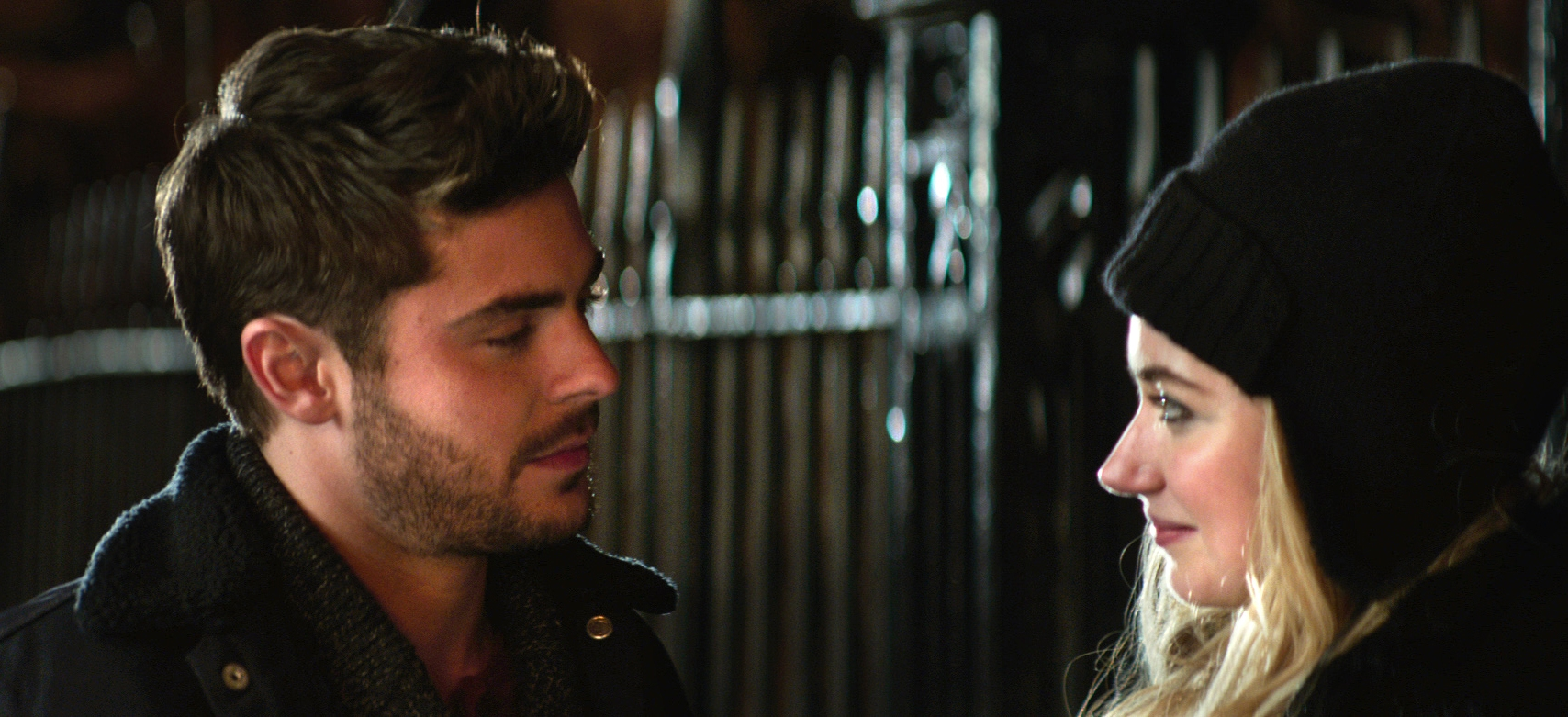 """Focus Features shows Zac Efron, left, and Imogen Poots in a scene from """"That Awkward Moment."""""""