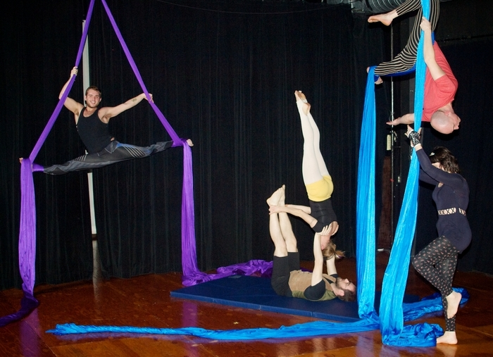 """Buffalo Aerial Dance will perform its new show """"Phenomenologia"""" in the ALT Theatre."""