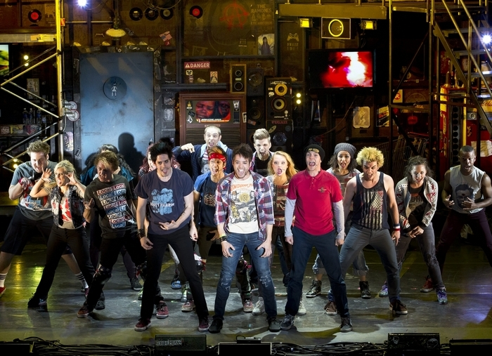 """American Idiot"" is performed Friday in Shea's Performing Arts Center."