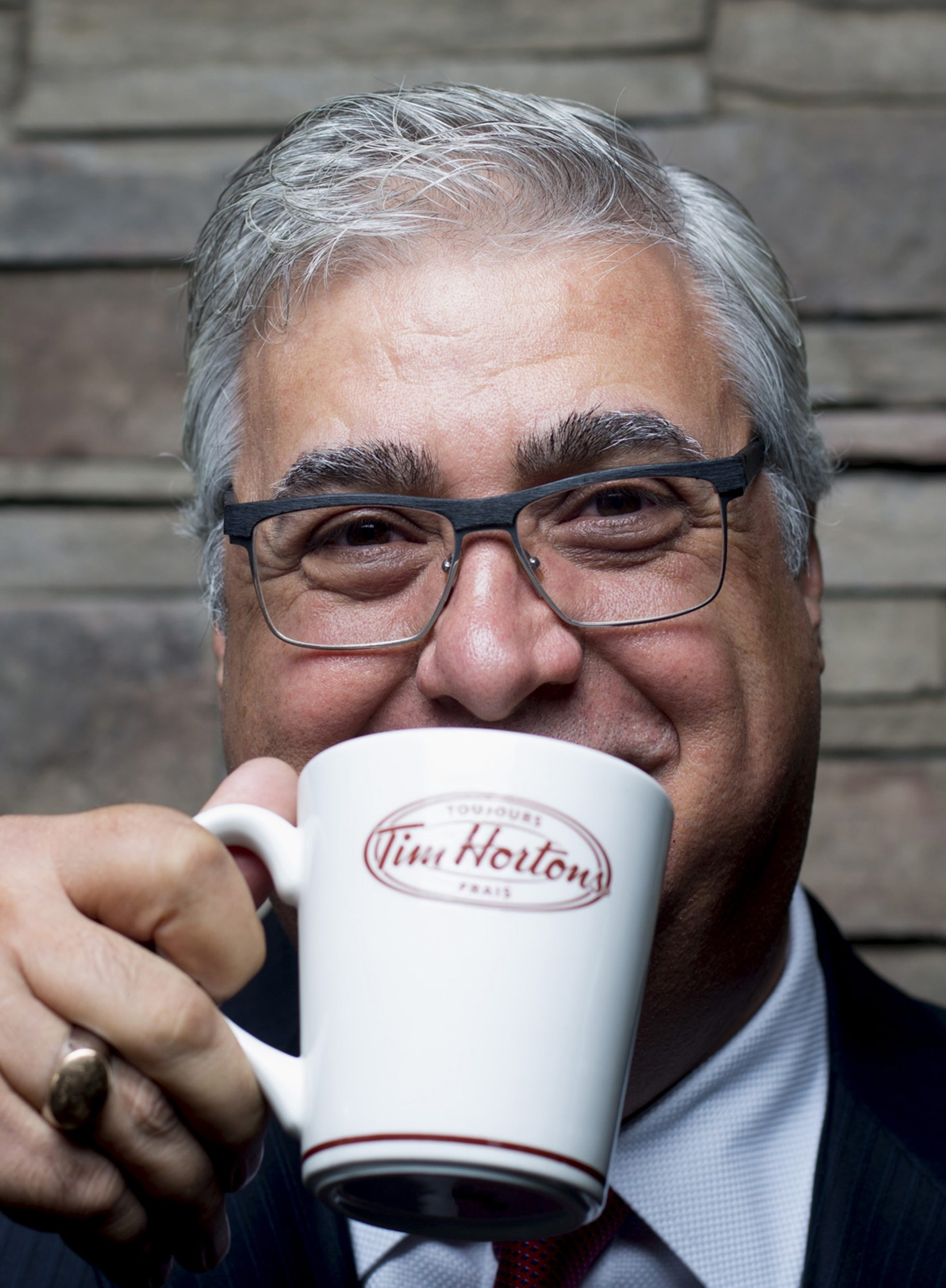 Marc Caira, president and CEO of Tim Hortons, will discuss the planned HarborCenter location.