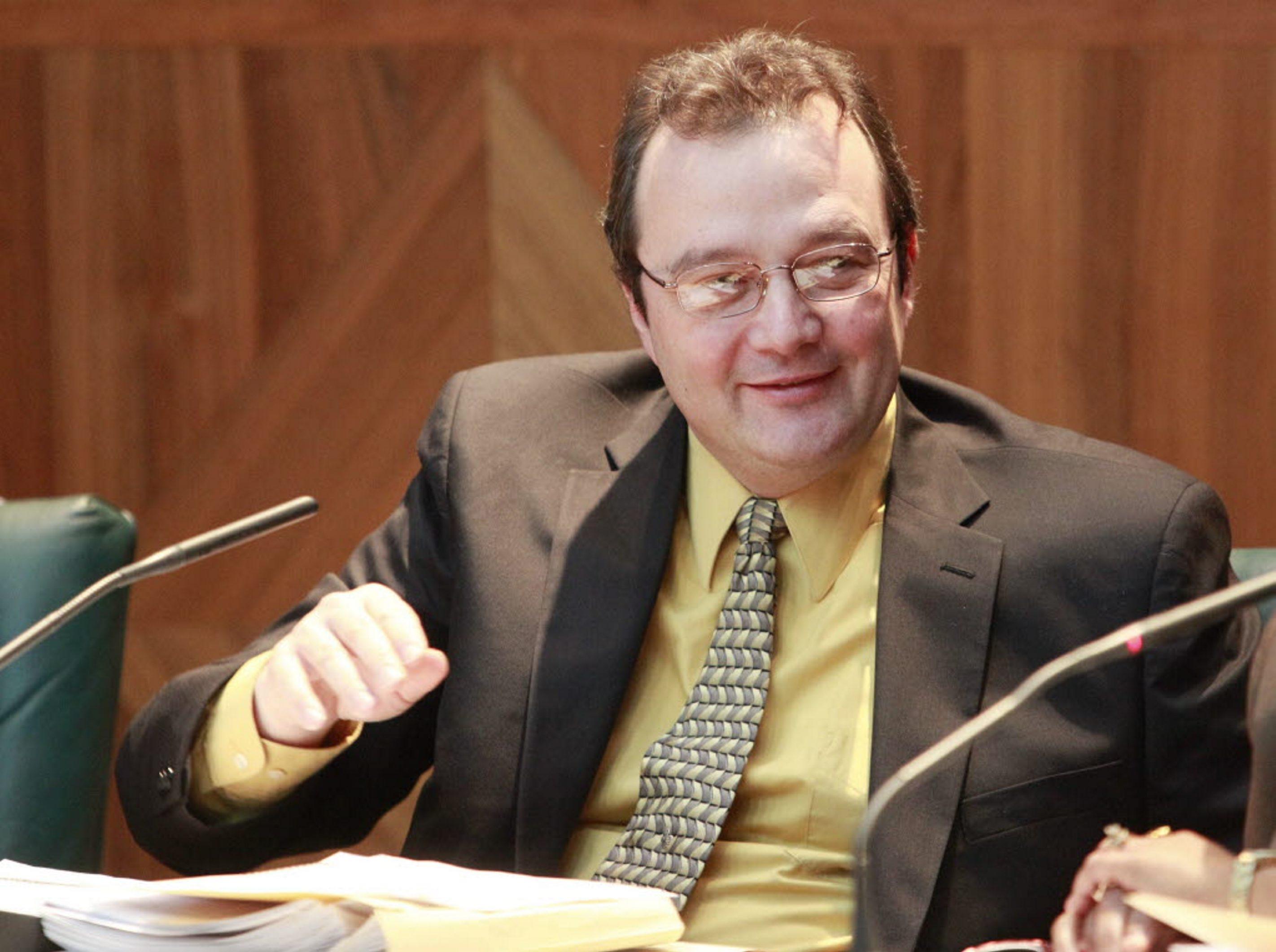 Council Member Joseph Golombek Jr. is an opponent of Peace Bridge expansion.