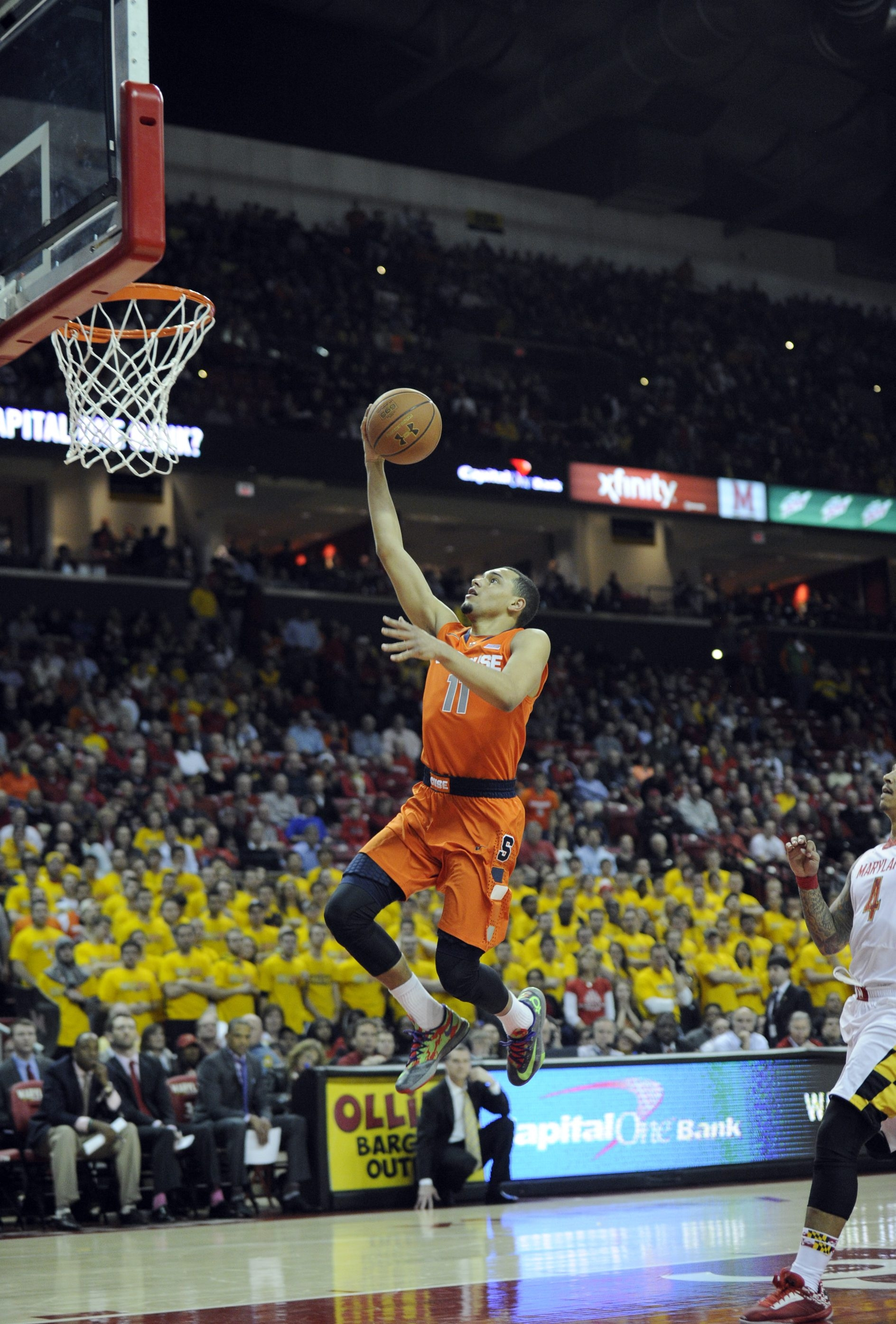 In a Syracuse program that has produced storied point guards, Tyler Ennis may turn out to be the best of them all.
