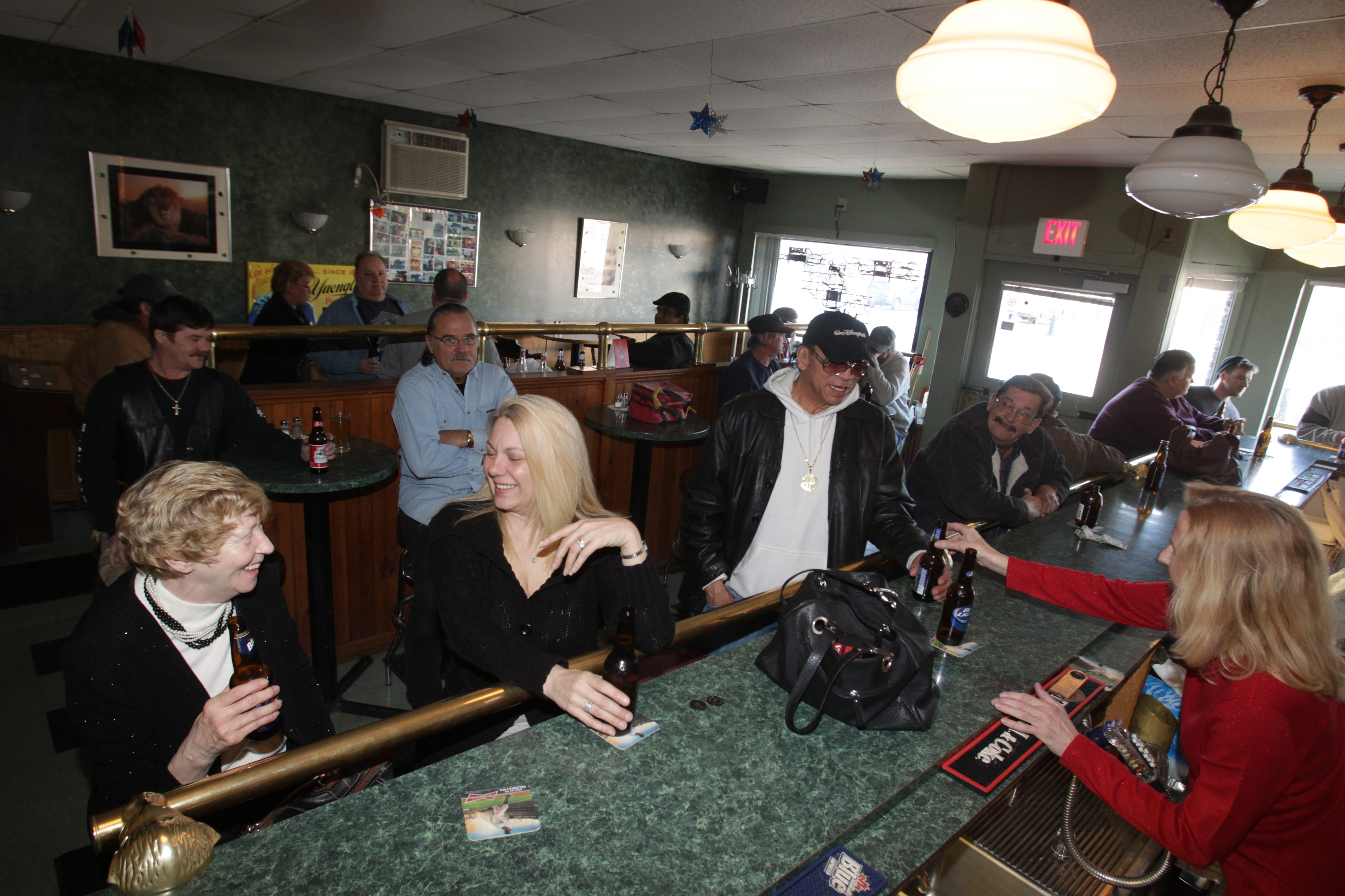 Barry's Bar and Grill on Amherst Street is a neighborhood favorite where folks go for cheap drinks and some good food.