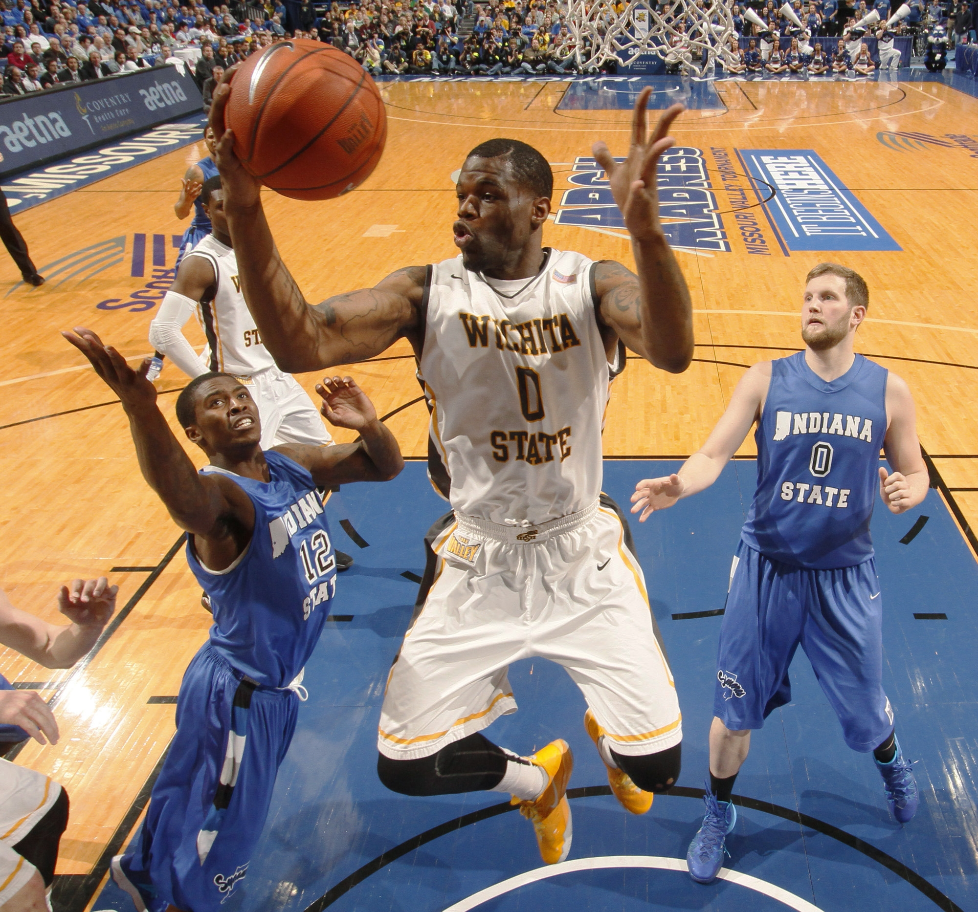 Chadrack Lufile and Wichita State got its No. 1 seed but may face a matchup with dangerous Kentucky in the third round.
