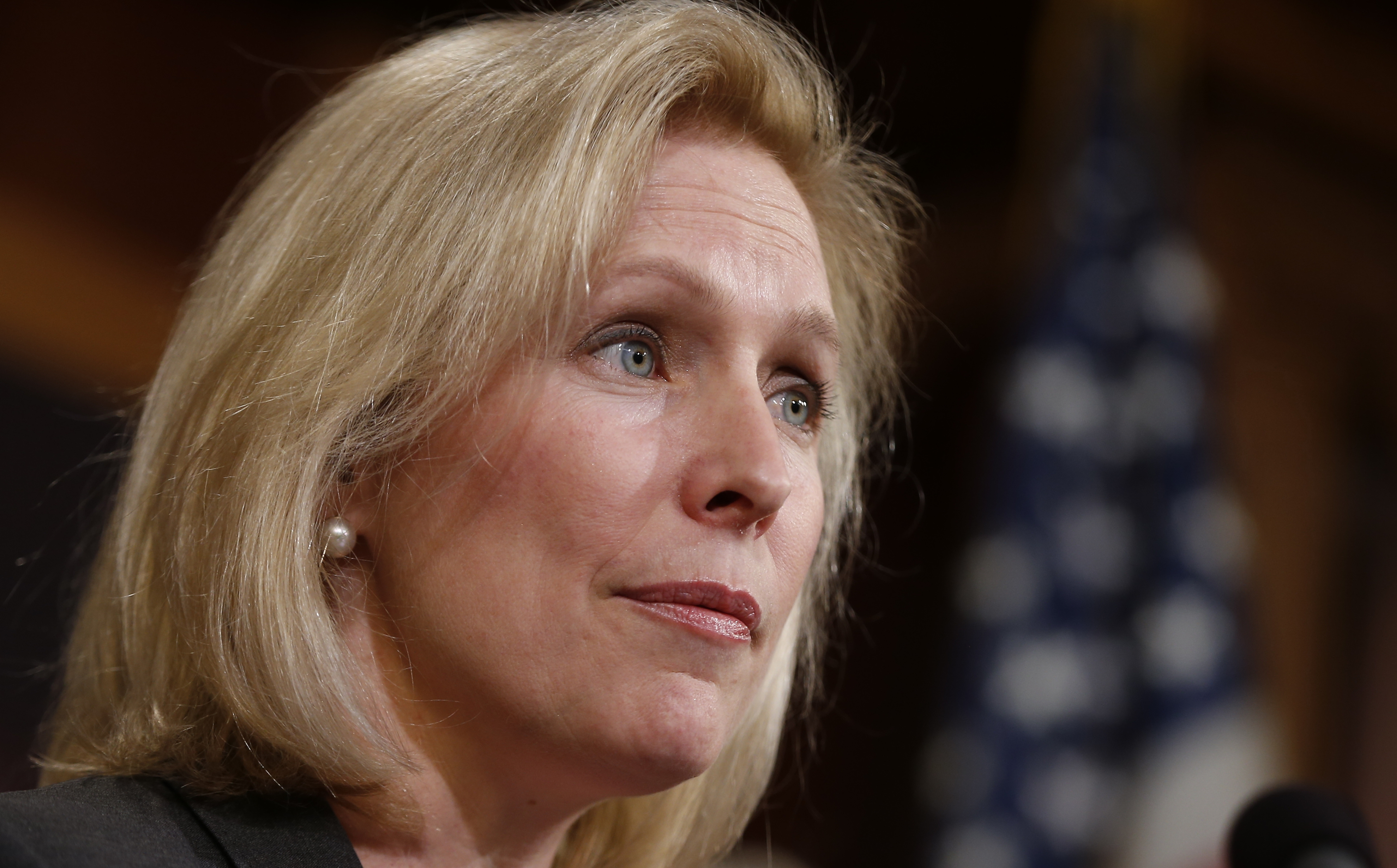 Sen. Kirsten Gillibrand has made a major issue of the military's failure to reform the way it responds to sexual assaults in the armed forces. (AP photo)