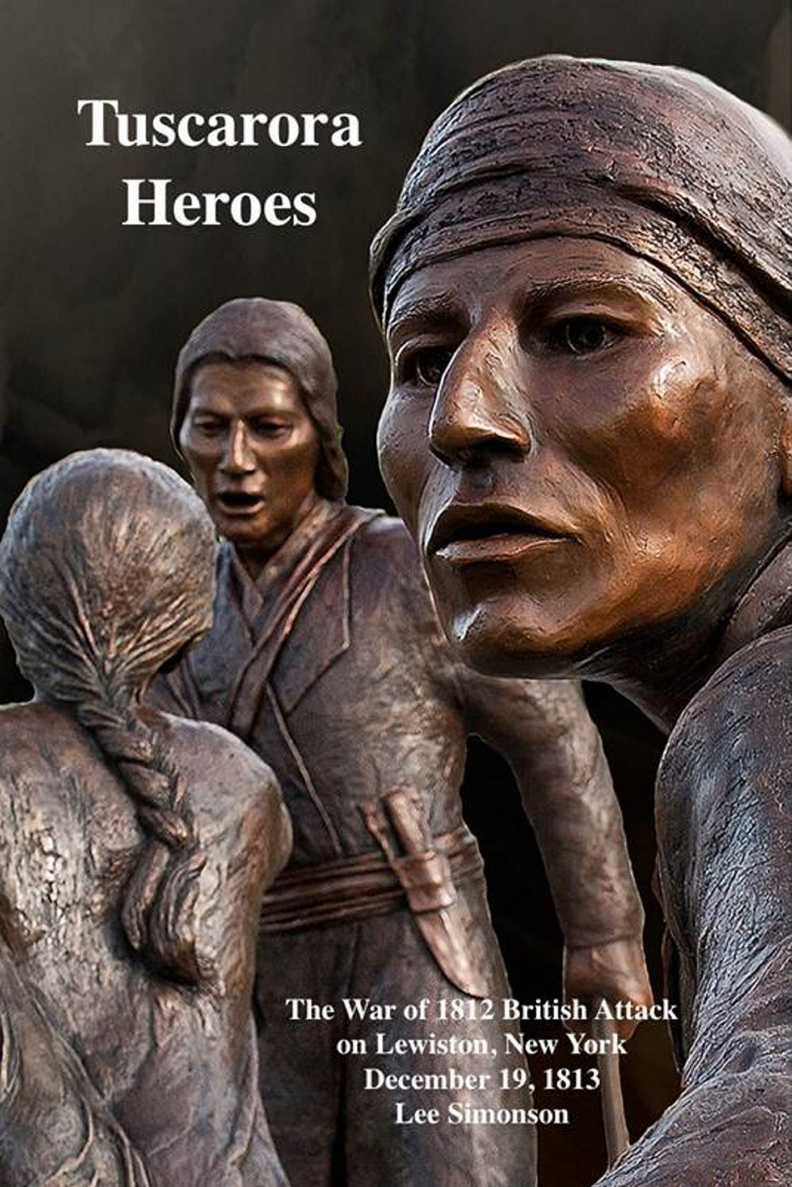 """The new cover art of """"Tuscarora Heroes"""" by photographer Bill Carpenter spotlights the Tuscarora Heroes Monument."""