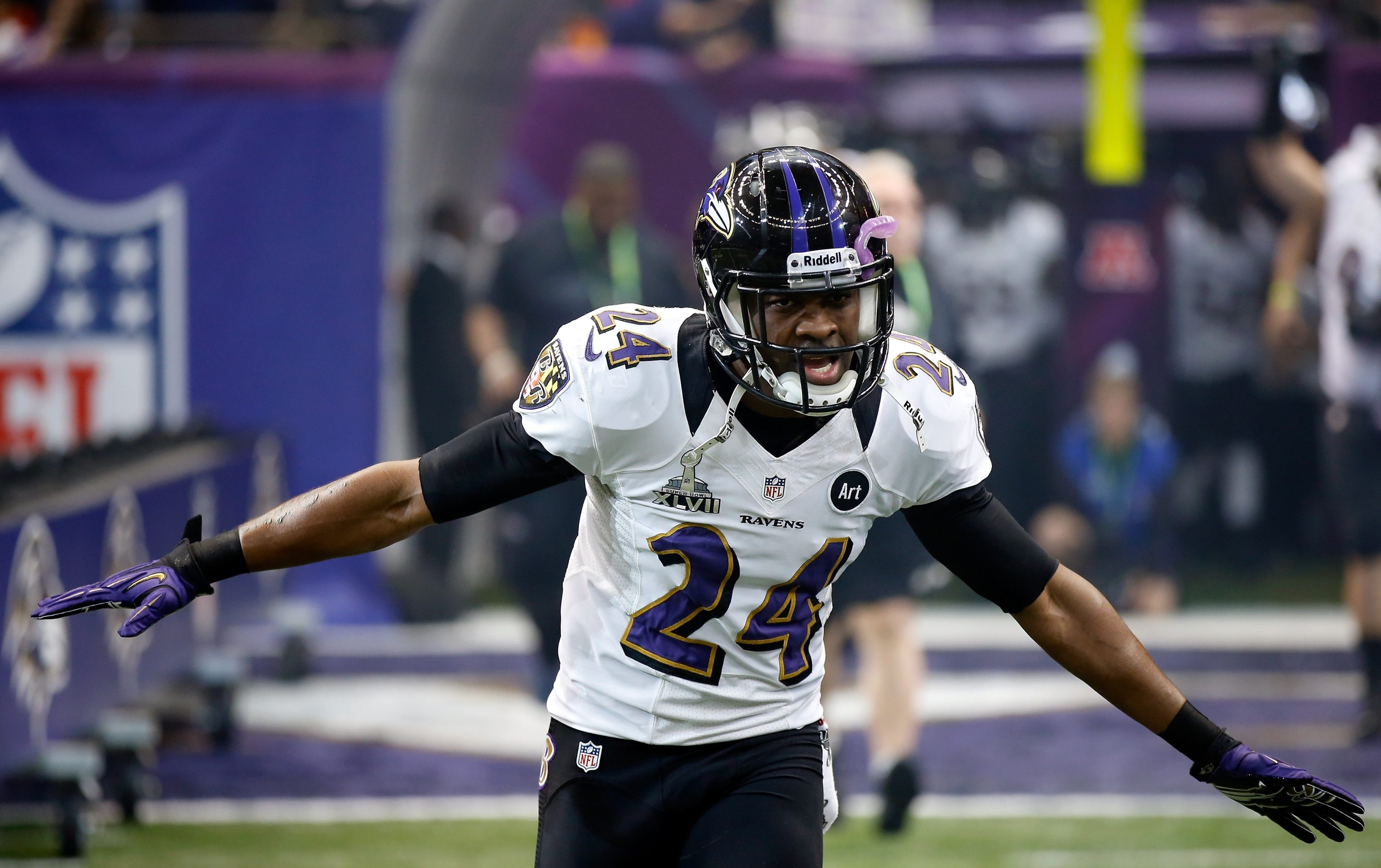 Turner-Carroll grad Corey Graham played two years for the Baltimore Ravens (Getty Images)