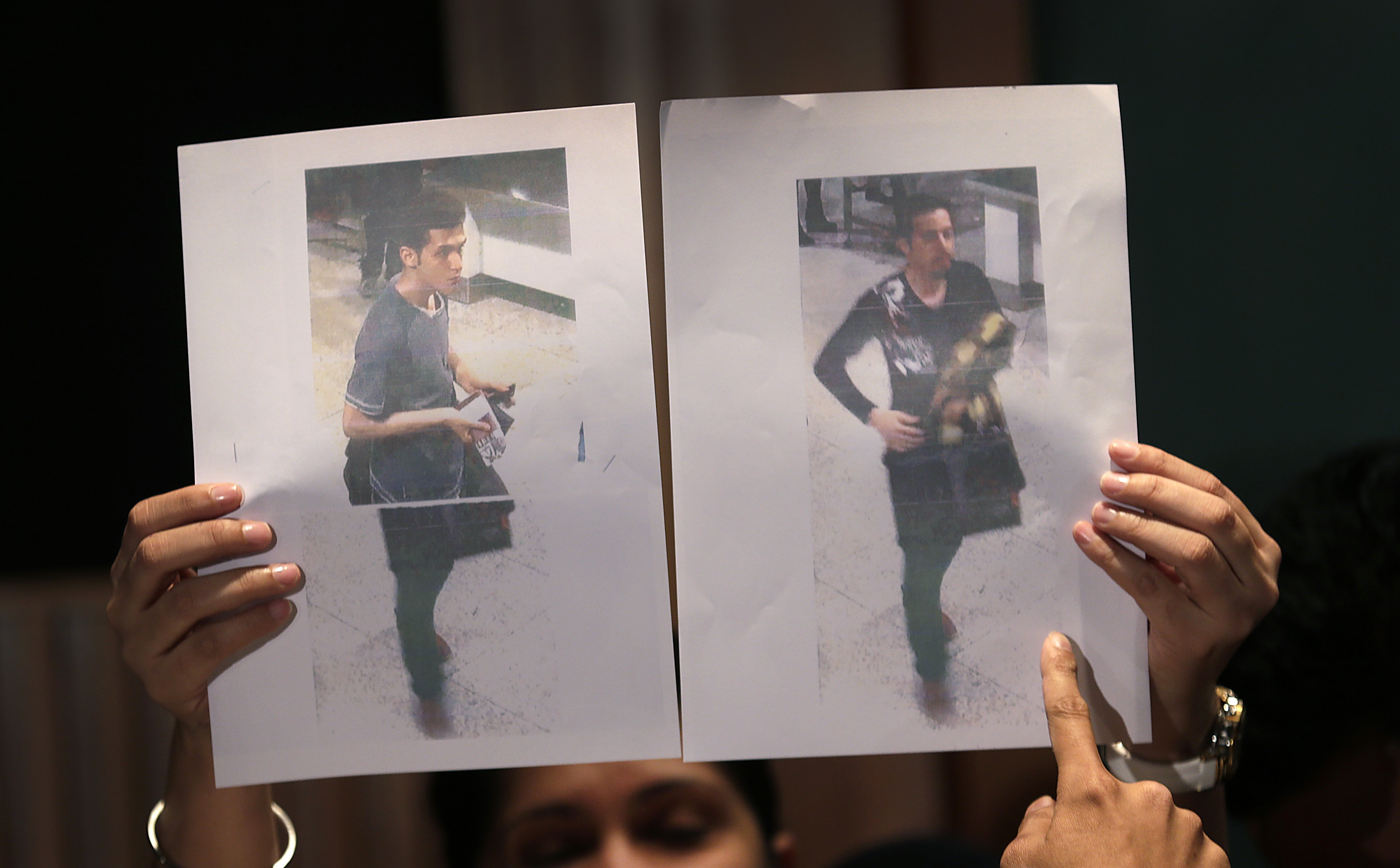 These two passengers on the lost Malaysian Airlines flight were using stolen passports, sparking fears of terrorism. A simple check of the passport database would have barred them from the flight. (AP photo)