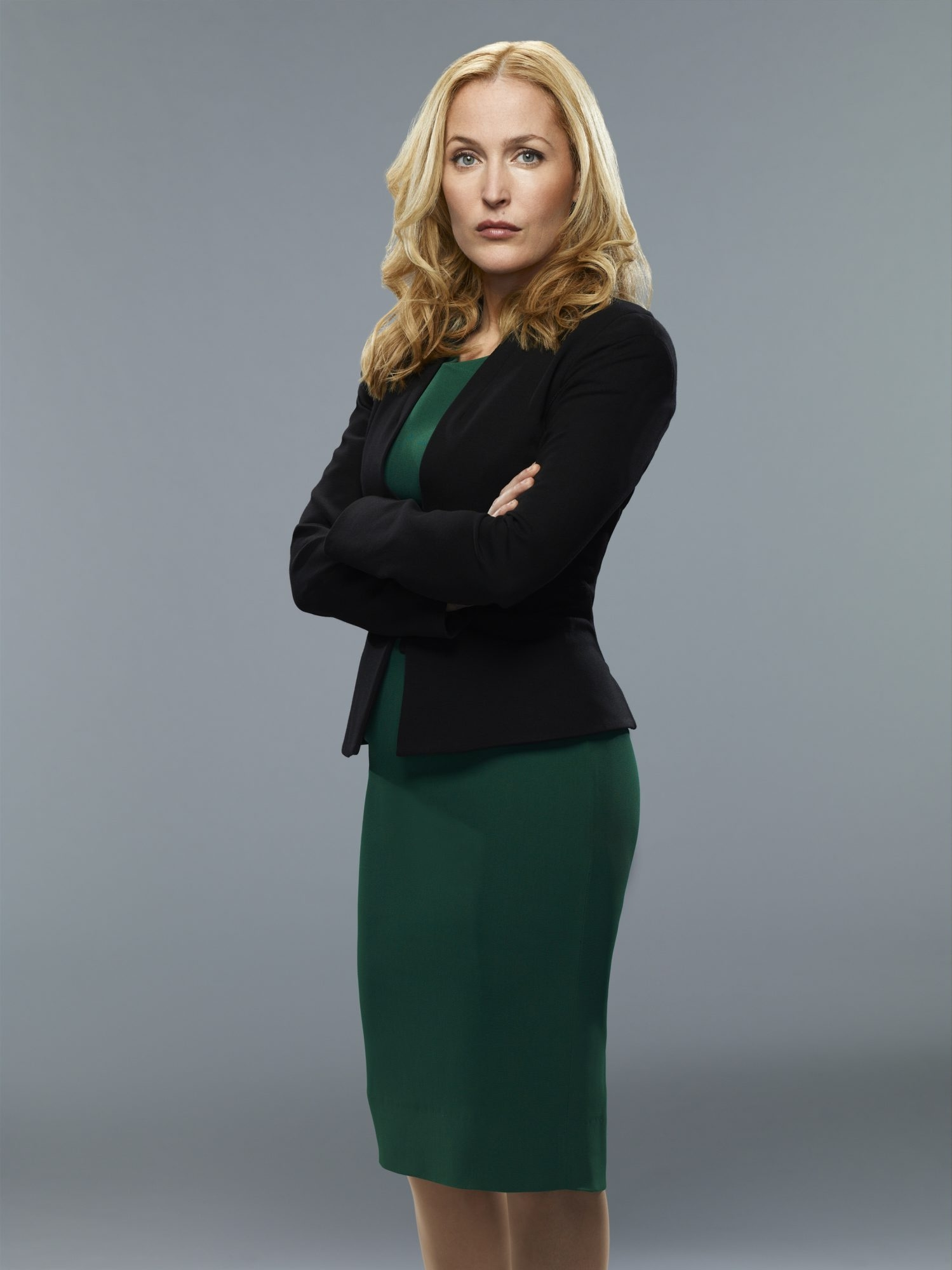 """Gillian Anderson stars as a high-powered CEO in NBC's """"Crisis."""""""