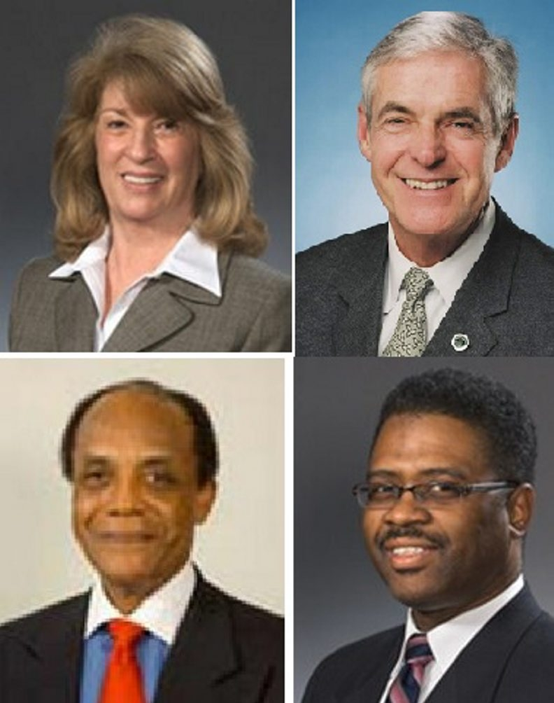 Members of the Board of Regents up for approval are, clockwise from top left, Christine D. Cea of Staten Island; James E. Cottrell of Brooklyn; Wade S. Norwood of Rochester and James O. Jackson of Albany.