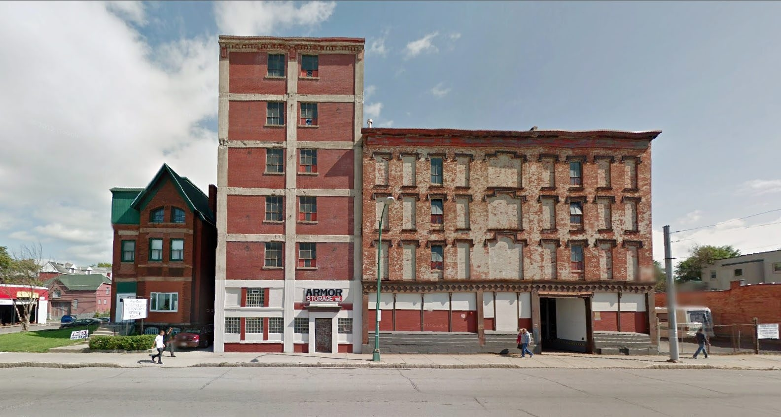 Two vacant sites at 285-295 Niagara St. are the focus of $10 million transformation.