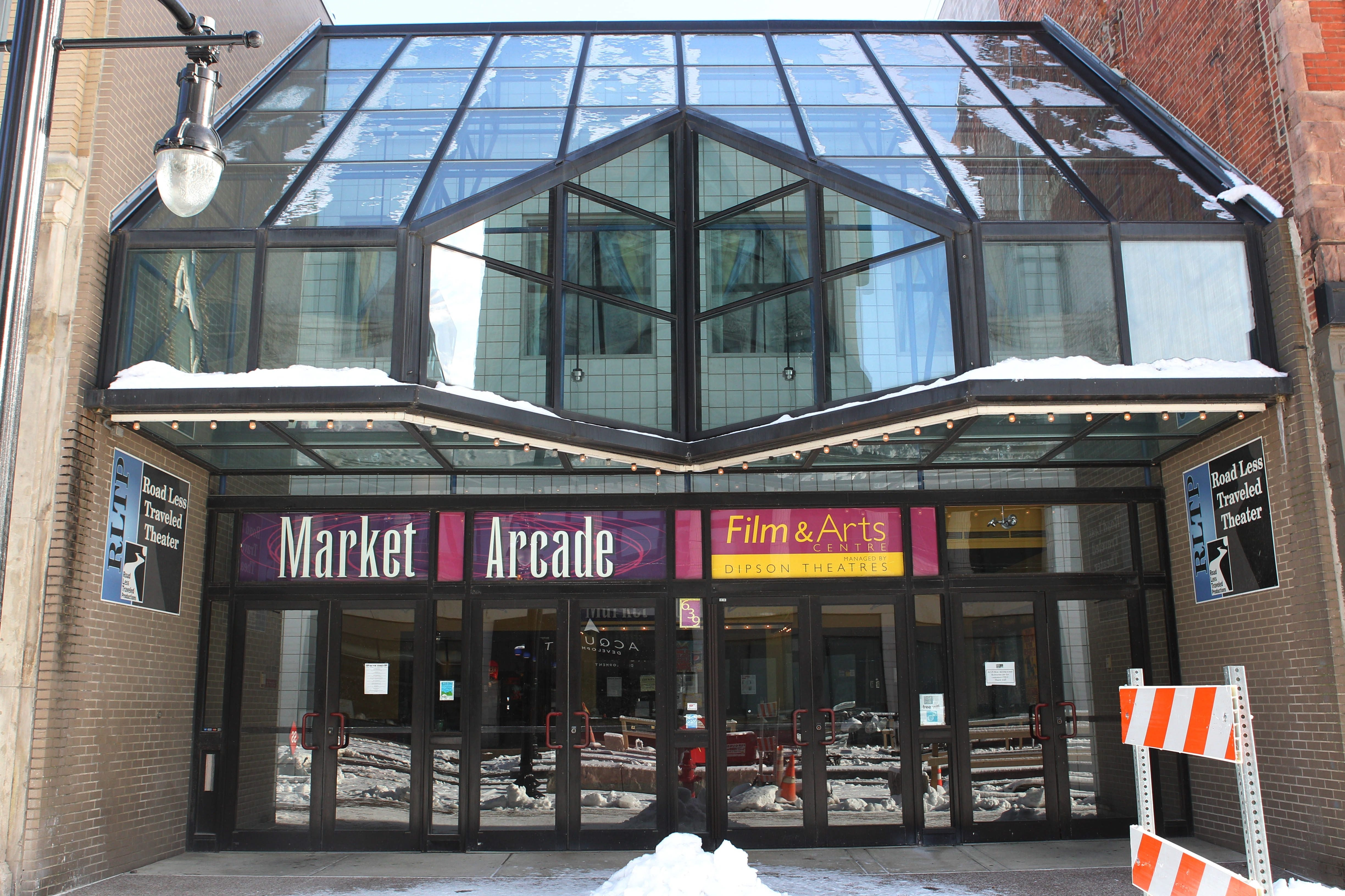 The City of Buffalo is seeking bids to operate the Market Arcade Theater on Main Street downtown.