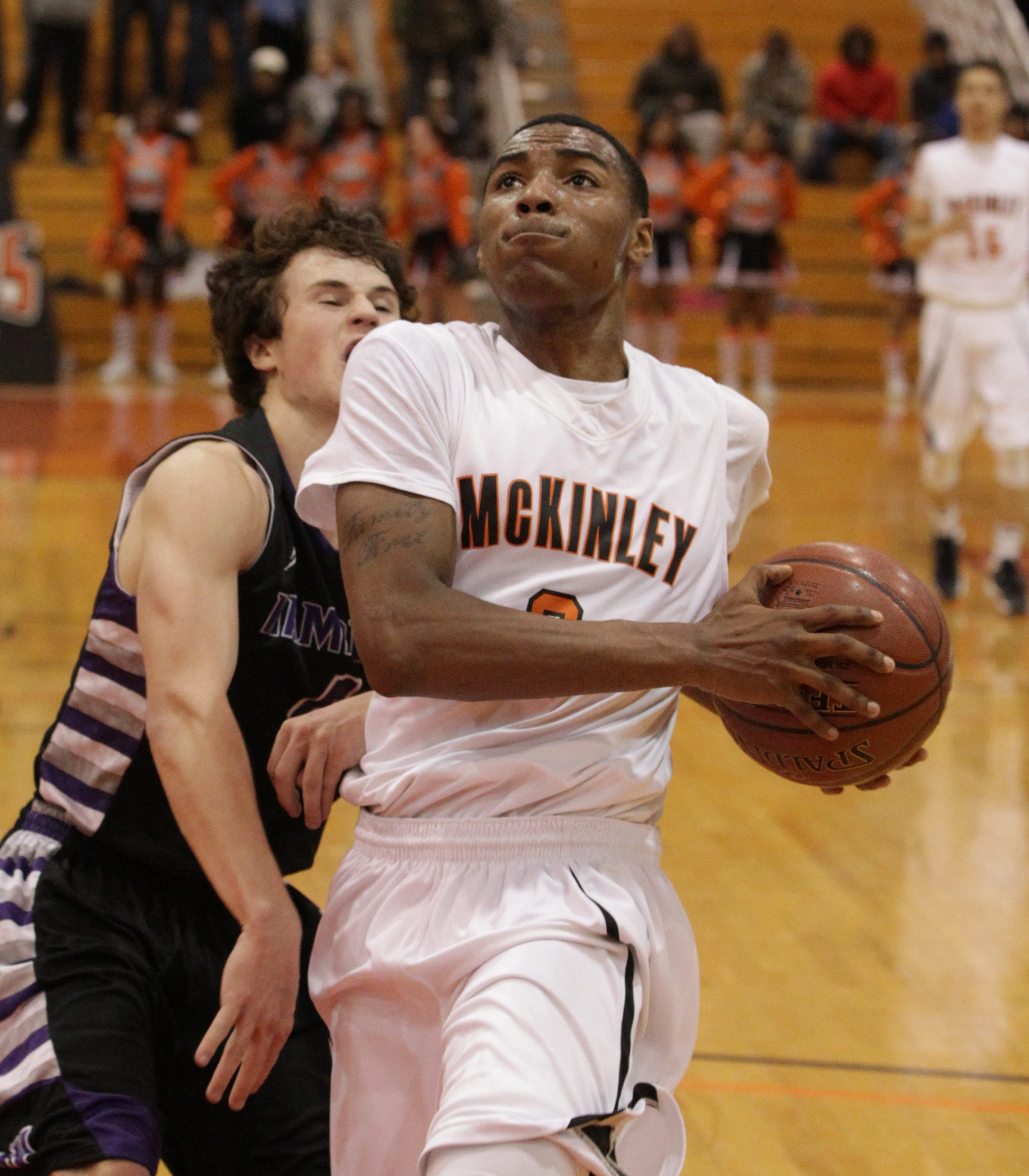 Varin Lenard is one part of a deep rotation for McKinley, which is looking to defend its Class A title with a completely new starting lineup.