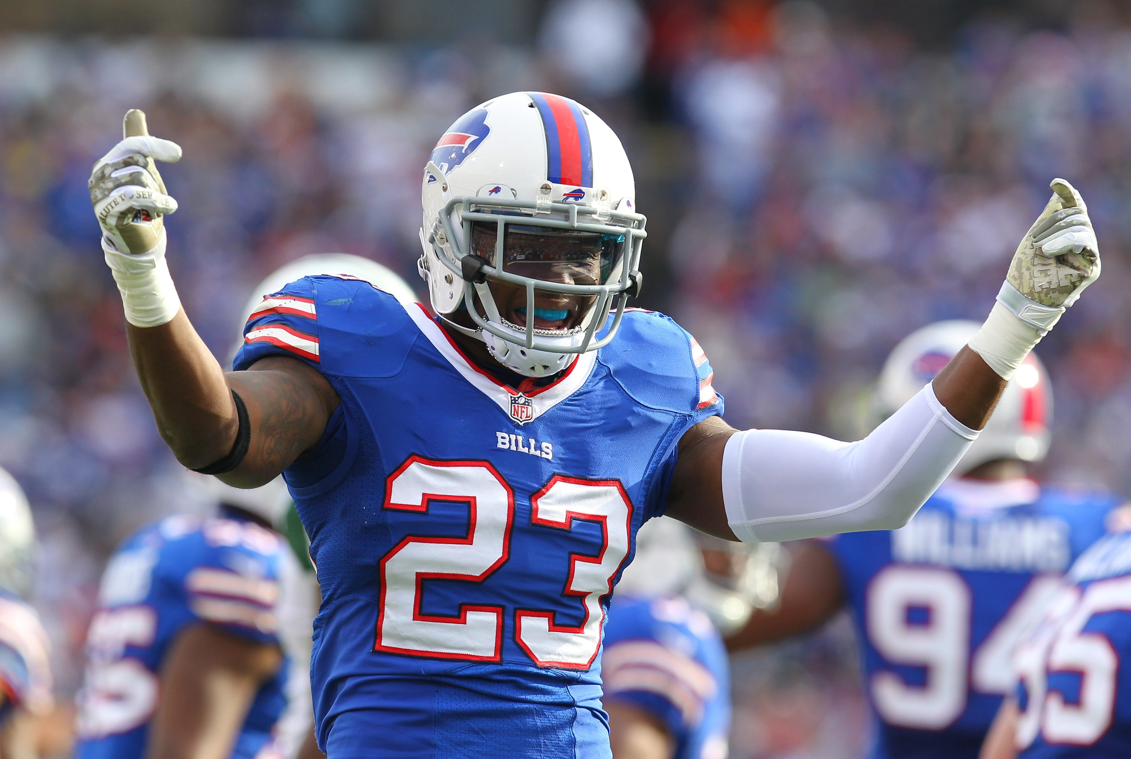 Bills granted Aaron Williams a four-year contract extension this week  (Mark Mulville/Buffalo News)