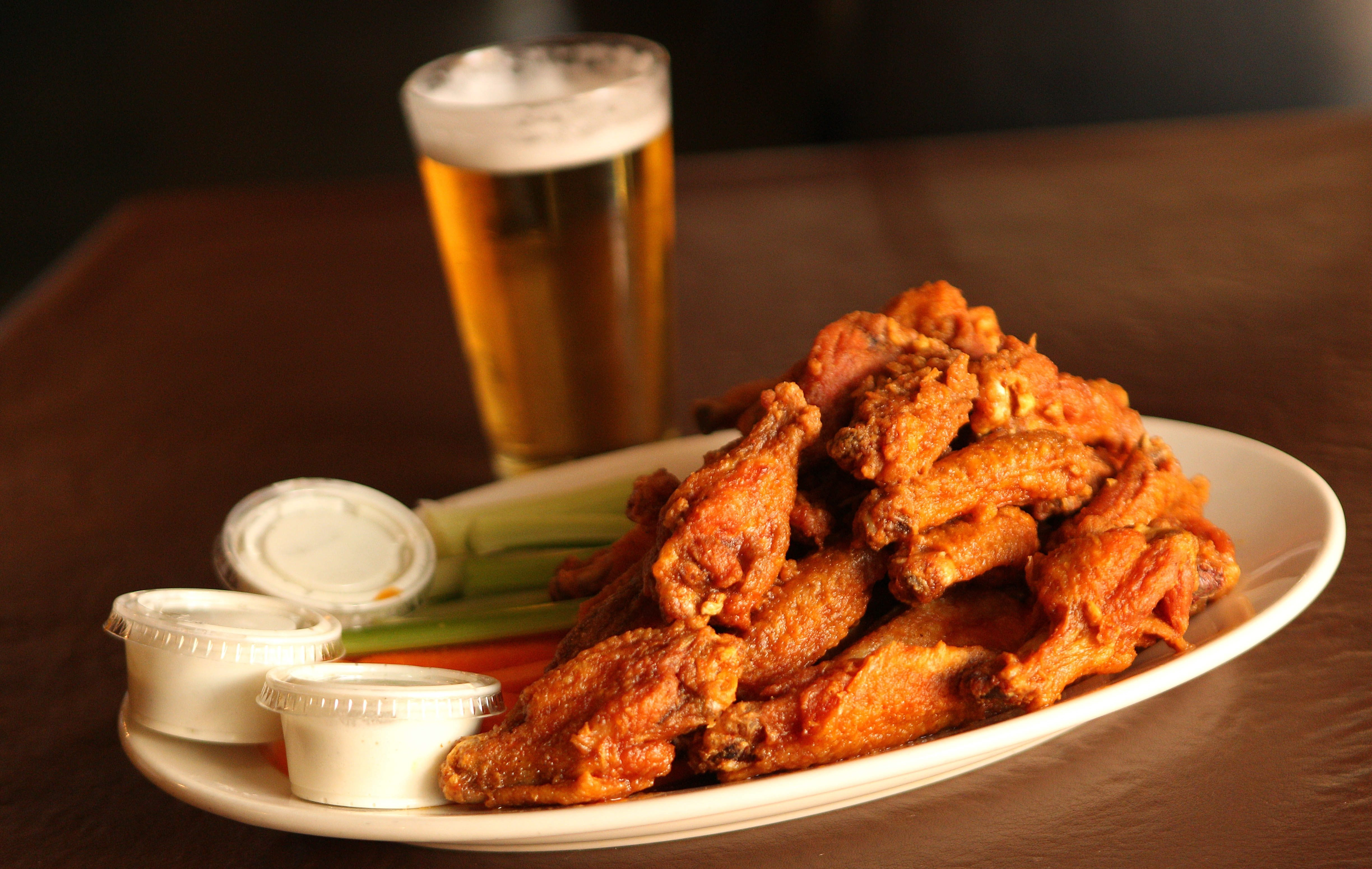 Doc Sullivan's on Abbott Road in South Buffalo serves Smitty-style chicken wings.