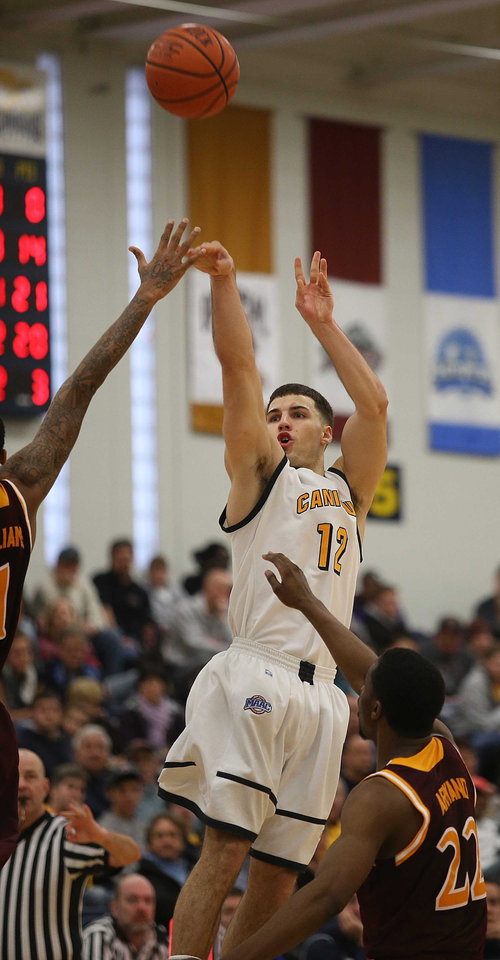 Billy Baron of Canisius was a unanimous selection for the All-MAAC team chosen by the league's coaches.