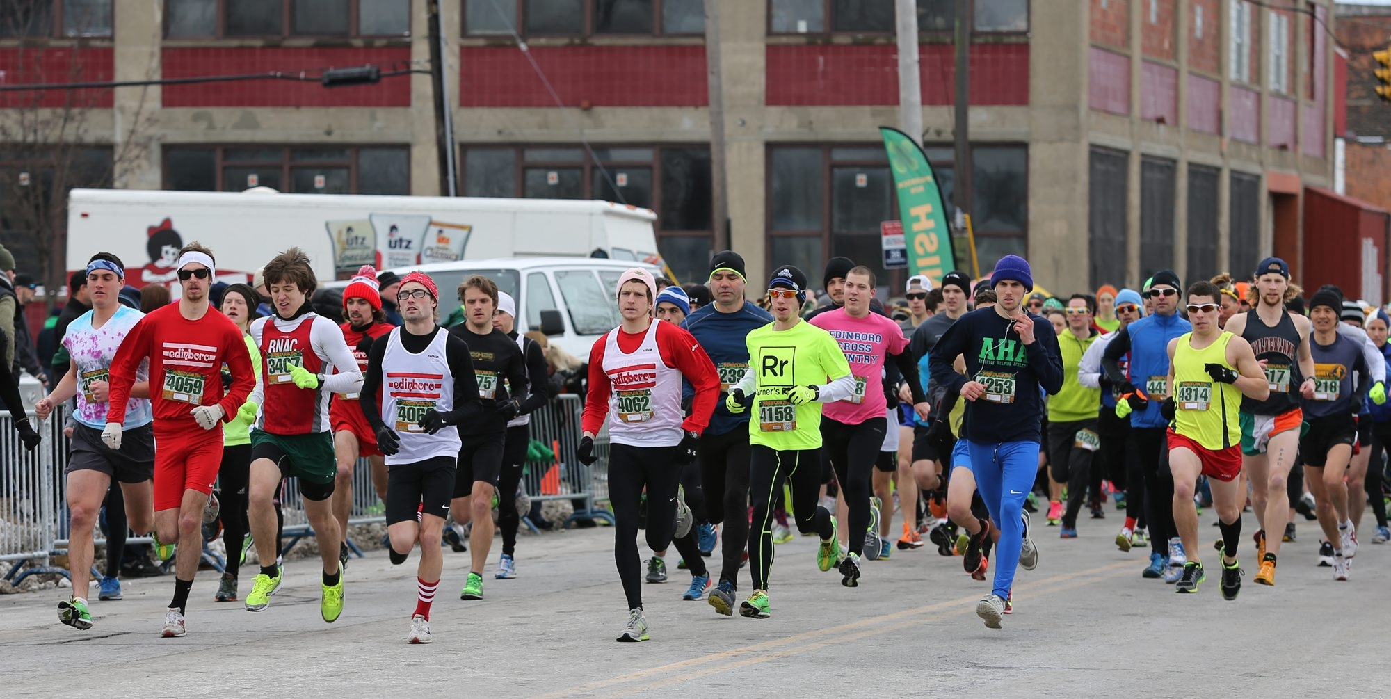 Runners hit the road in Buffalo's Old First Ward on Saturday for the annual Shamrock Run. About 4,900 entrants took part on what turned out to be a seasonable winter day. See a photo gallery on buffalonews.com.