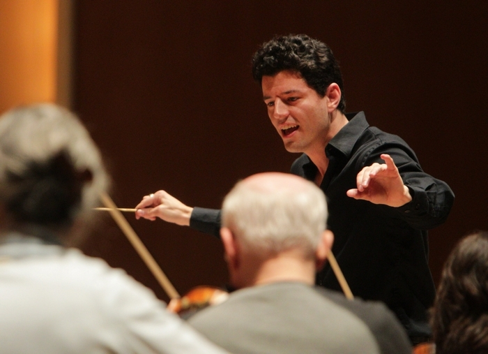 Five candidates for the BPO Associate Conductor position, auditioned at Kleinhans,Tuesday, April 8, 2014. The fourth to audition was Troy Quinn who is the Music Director of the Portsmouth Institute Orchestra.   (Sharon Cantillon/Buffalo News)