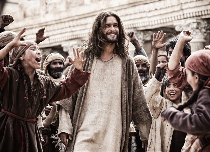 """An undated handout photo of  Portuguese actor Diogo Morgado as Jesus in the film """"Son of God."""" Filming the Passion is fraught with peril, as is casting the personage whom millions consider divine, so there's little question that """"Son of God"""" will invite scrutiny. (Casey Crafford/20th Century Fox via The New York Times"""