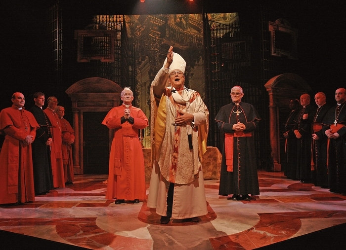 "Richard O'Callaghan as Pope John Paul I in ""The Last Confession"""