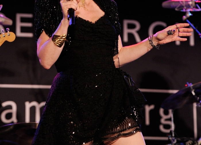 NEW YORK – JUNE 03:  Singer Cyndi Lauper attends the 2010 amfAR New York Inspiration Gala at The New York Public Library on June 3, 2010 in New York, New York.  (Photo by Larry Busacca/Getty Images) *** Local Caption *** Cyndi Lauper