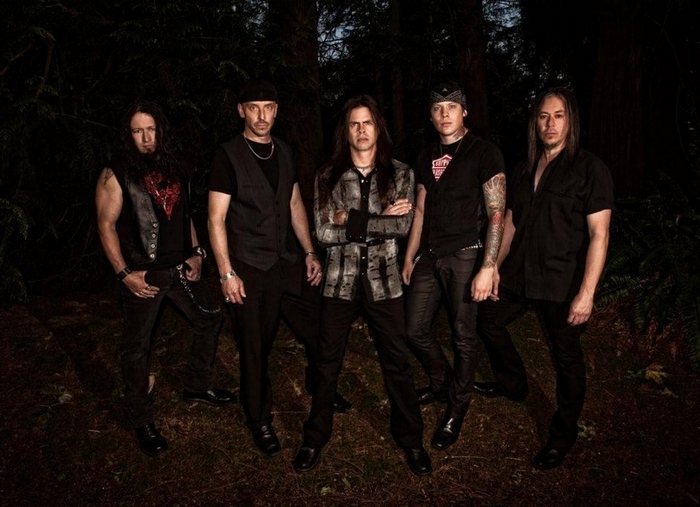 Queensryche performs in the Riviera Theatre on Friday.