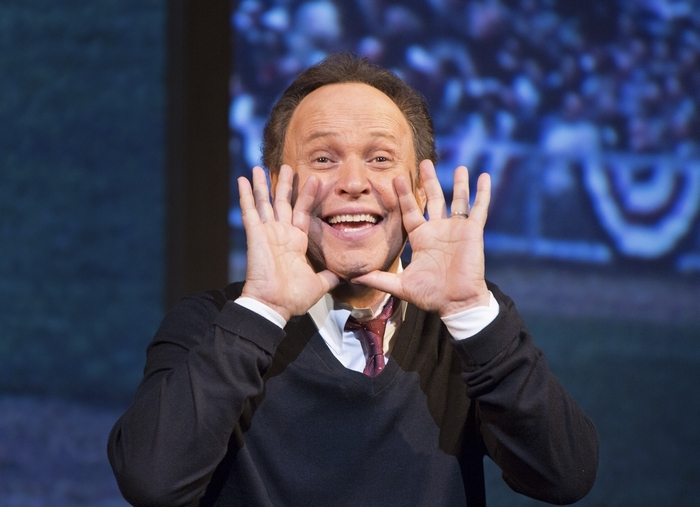 """Billy Crystal is back doing his one-man show, """"700 Sundays."""" (The New York Times)"""