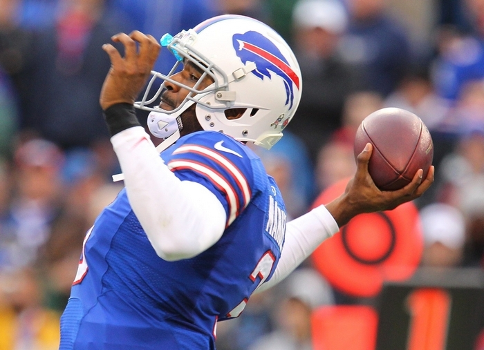 EJ Manuel and the Bills know they will open the preseason against the New York Giants on Aug. 3 in the Hall of Fame Game in Canton, Ohio. (Mark Mulville/Buffalo News)