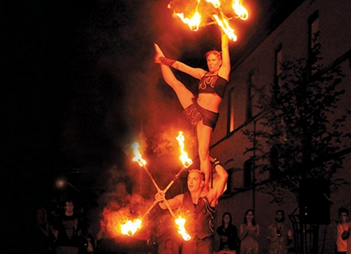 Buskerfest brings international talent to the streets of Niagara Falls, Ont.