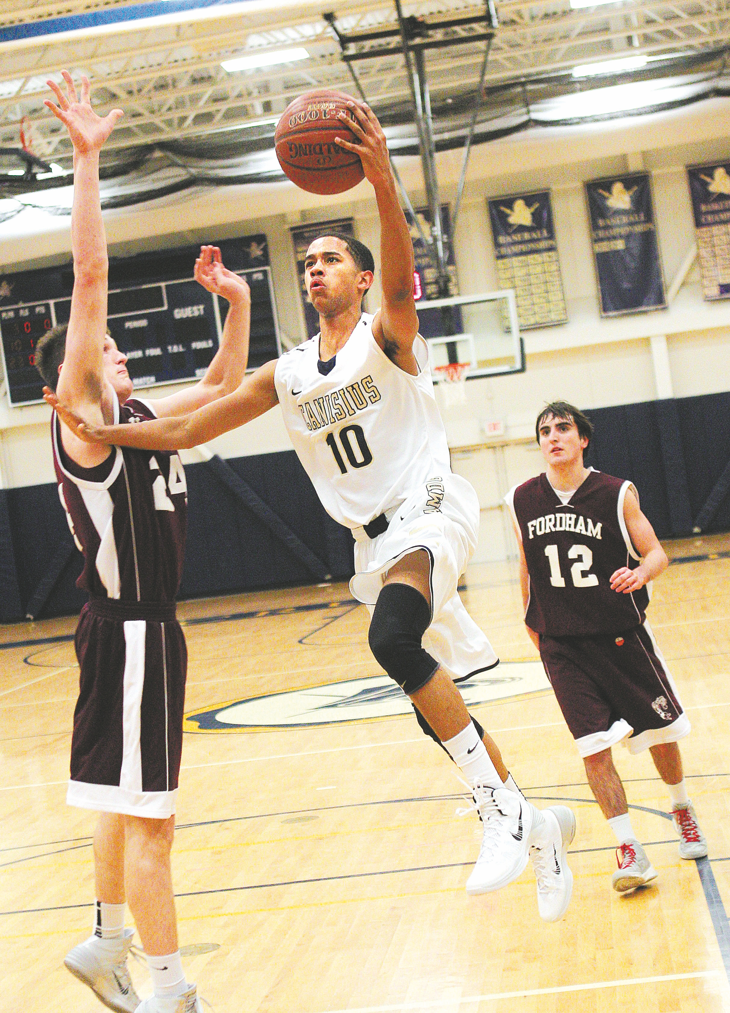 Canisius High School sophomore forward Howard Washington has plenty of offers from Division I colleges from which to consider.