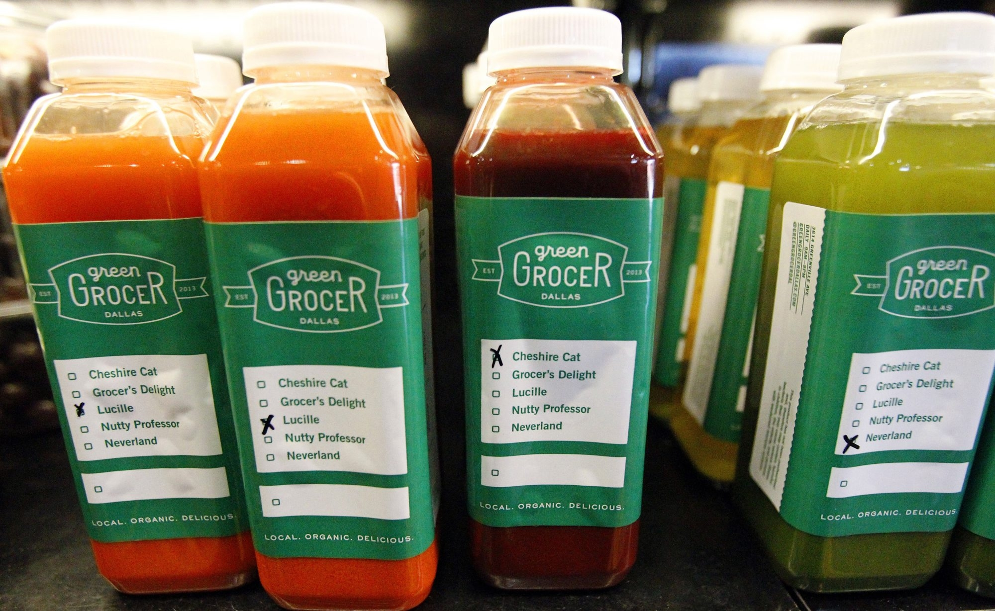 For those not wating to create their own, stores offer bottled juices ready to go. (Mona Reeder/Dallas Morning News/MCT)