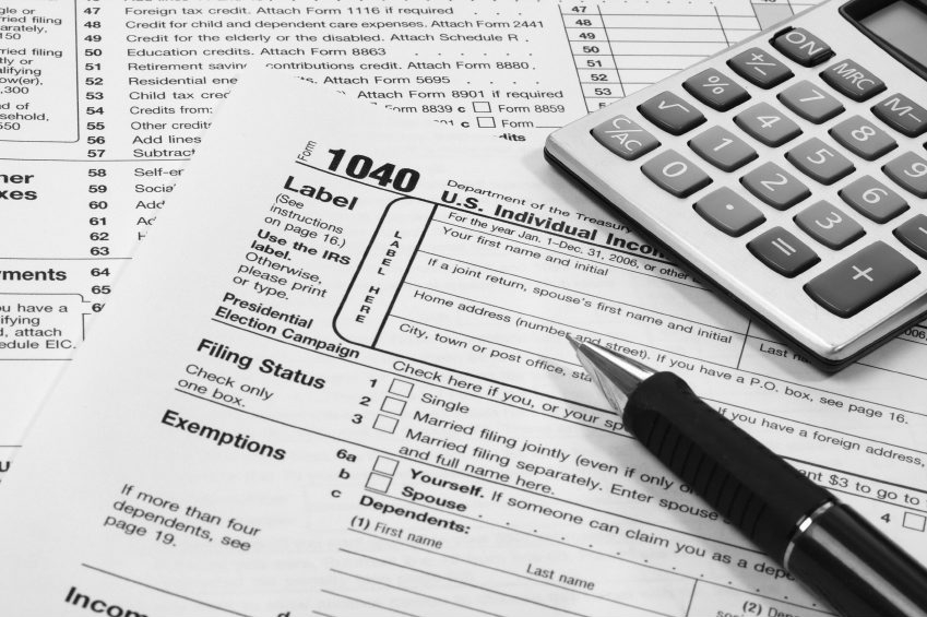 Keep income tax returns and the supporting paperwork for at least three years.
