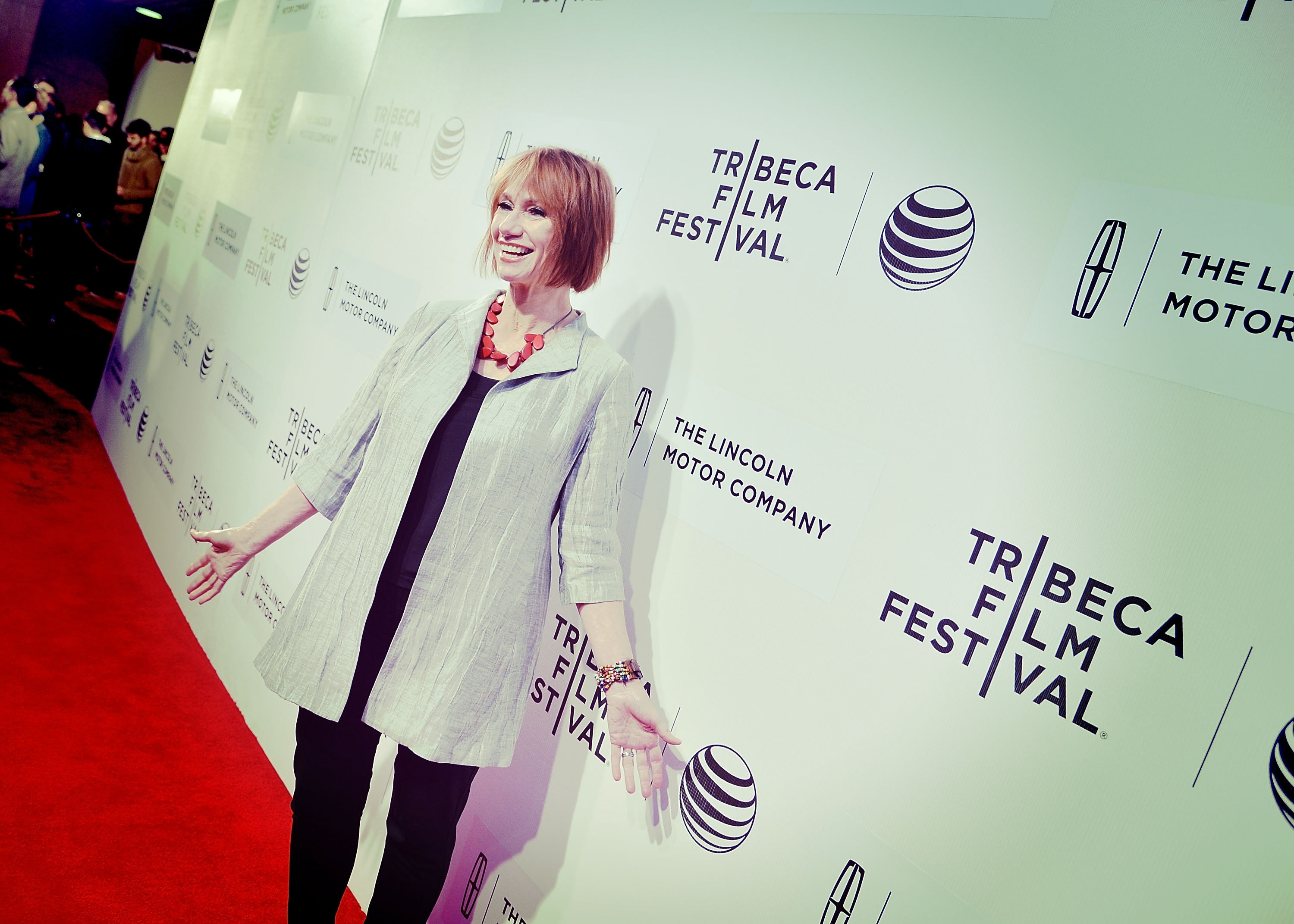 """On the """"Boulevard"""": Kathy Baker attends the """"Boulevard"""" Premiere during the 2014 Tribeca Film Festival Sunday."""